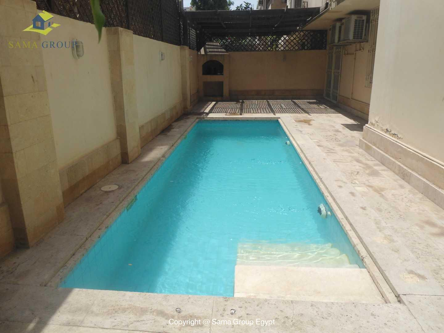 Ground Floor With Pool For Rent In Maadi Sarayat,Modern Furnished,Ground Floor NO #2