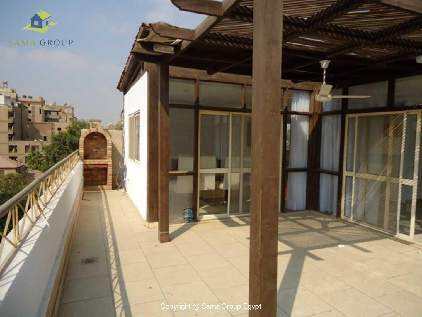 Penthouse For Rent In Maadi Sarayat,Modern Furnished,Penthouse NO #7