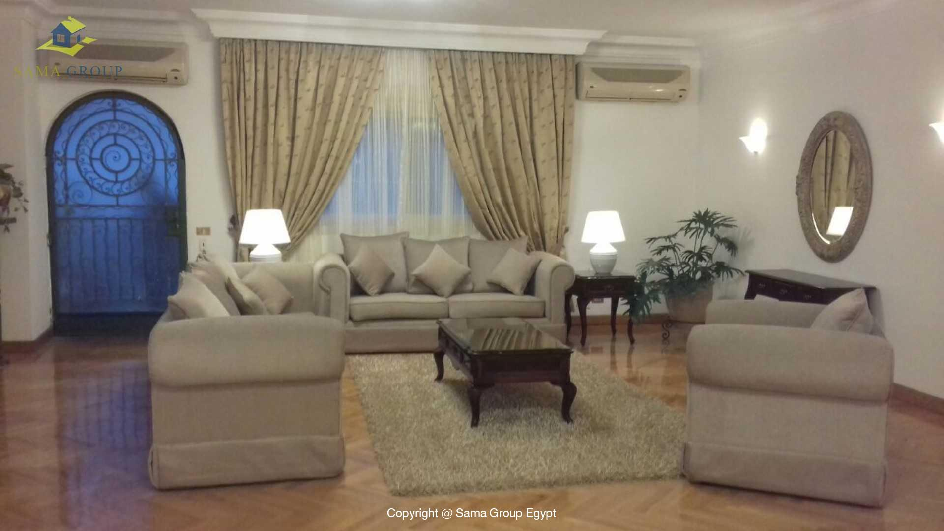 Ground Floor For Rent In Maadi Sarayat,Modern Furnished,Ground Floor NO #9