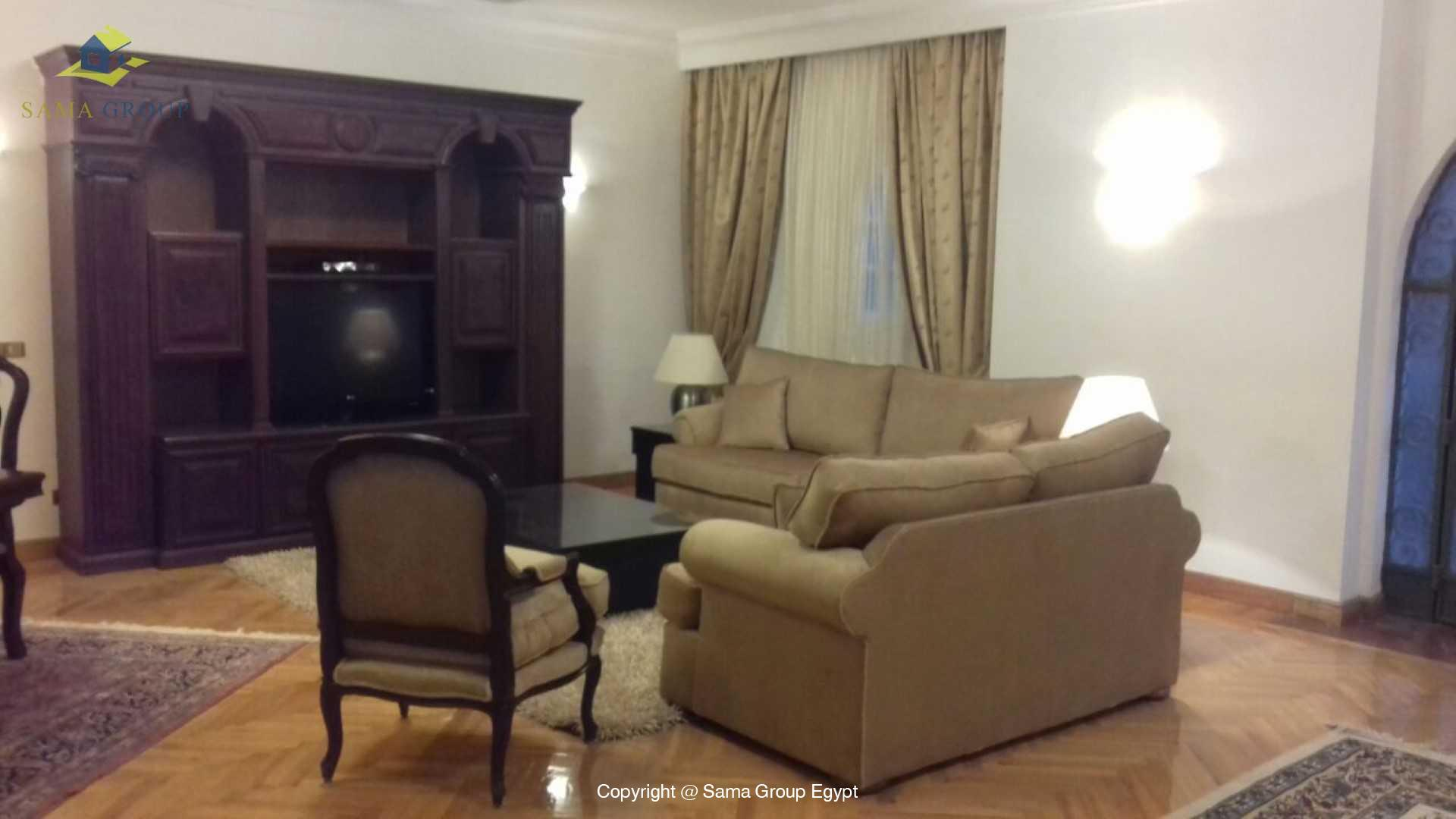 Ground Floor For Rent In Maadi Sarayat,Modern Furnished,Ground Floor NO #5