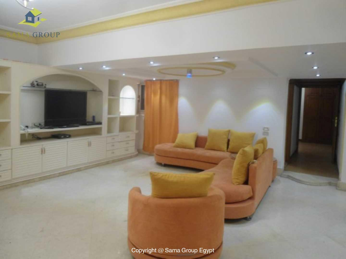 Fully Furnished Ground Floor For Rent In Maadi,Modern Furnished,Ground Floor NO #7