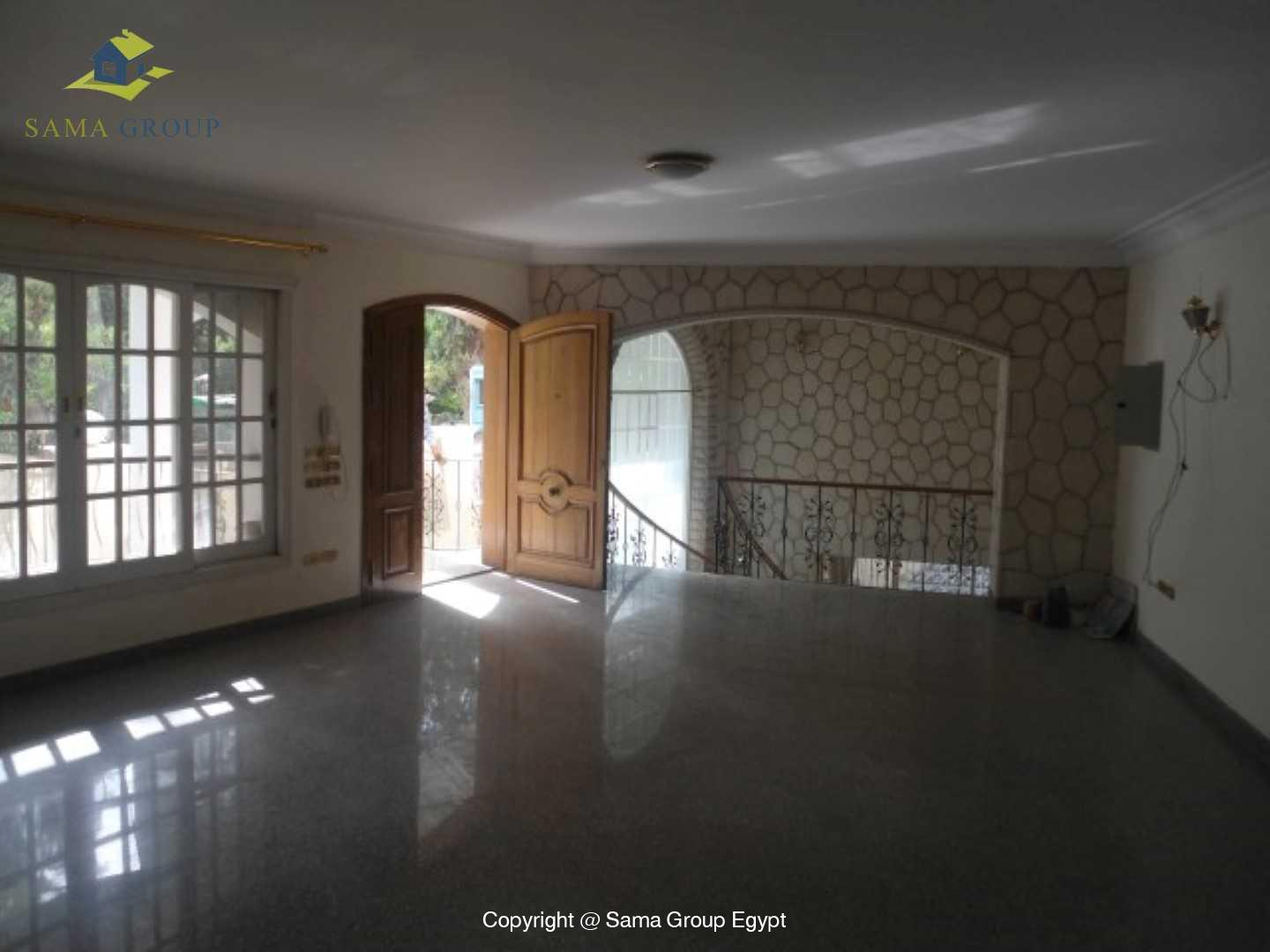 Ground Floor Duplex With Pool For Rent In Maadi,Semi furnished,Ground Floor NO #15