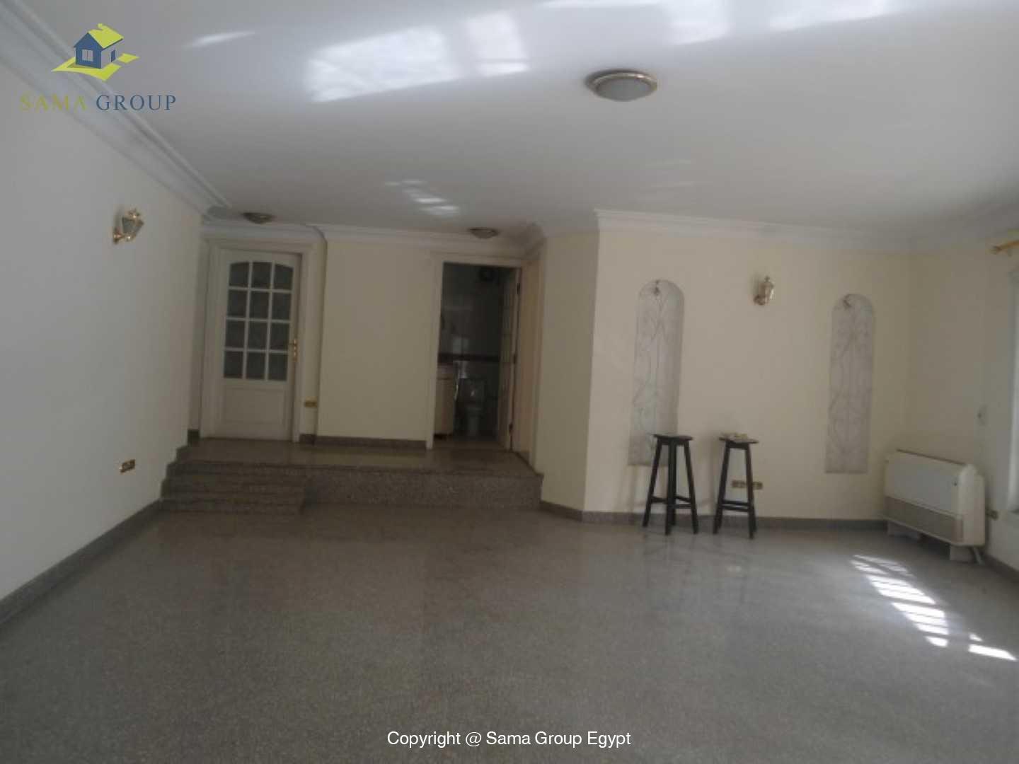 Ground Floor Duplex With Pool For Rent In Maadi,Semi furnished,Ground Floor NO #10