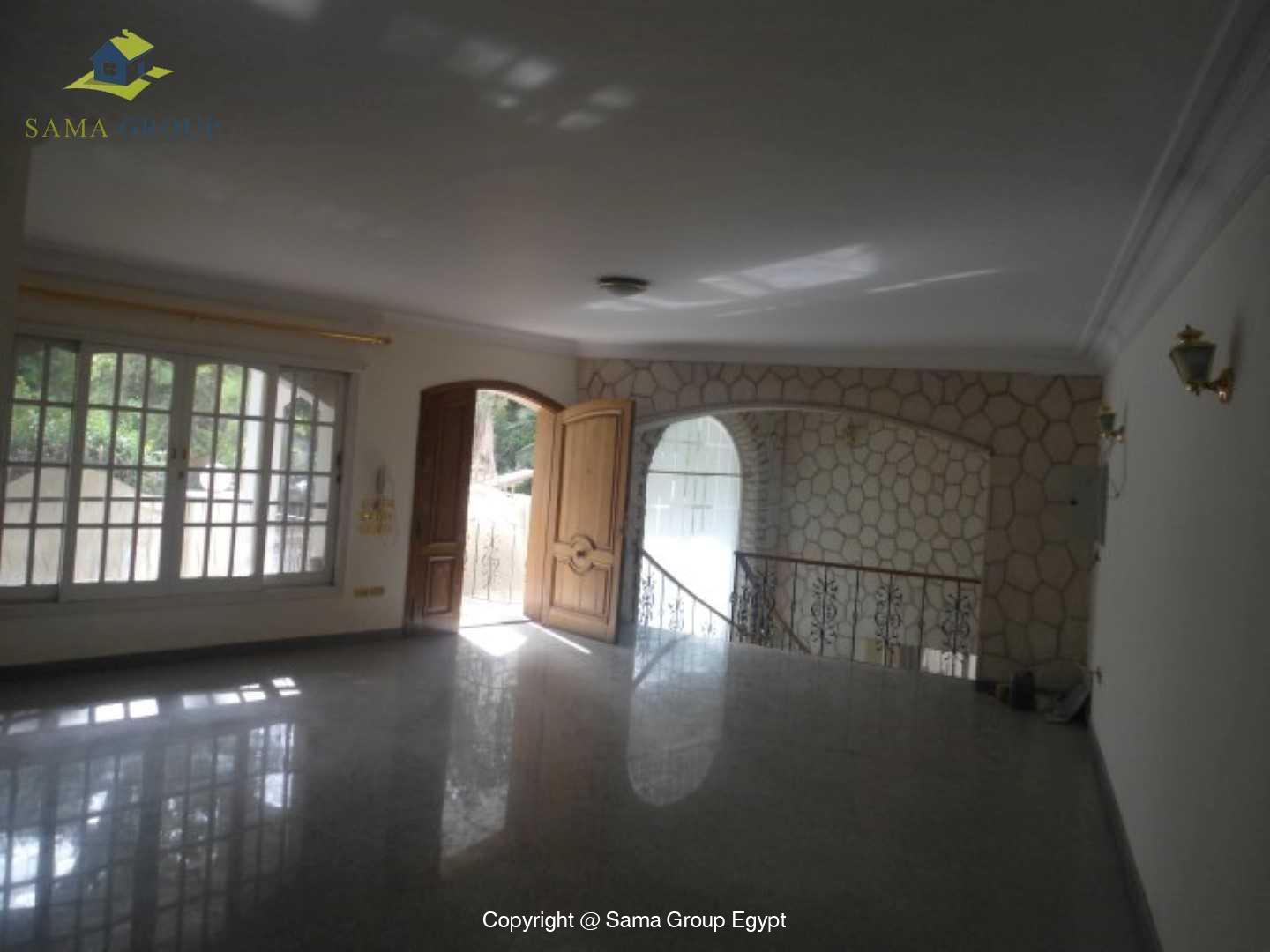Ground Floor Duplex With Pool For Rent In Maadi,Semi furnished,Ground Floor NO #6