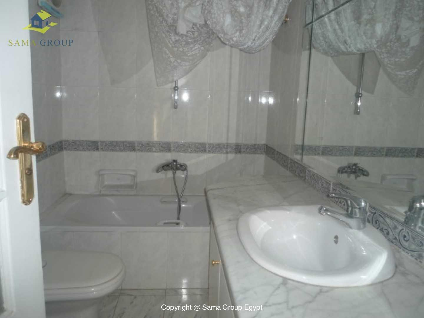 Ground Floor Duplex With Pool For Rent In Maadi,Semi furnished,Ground Floor NO #3