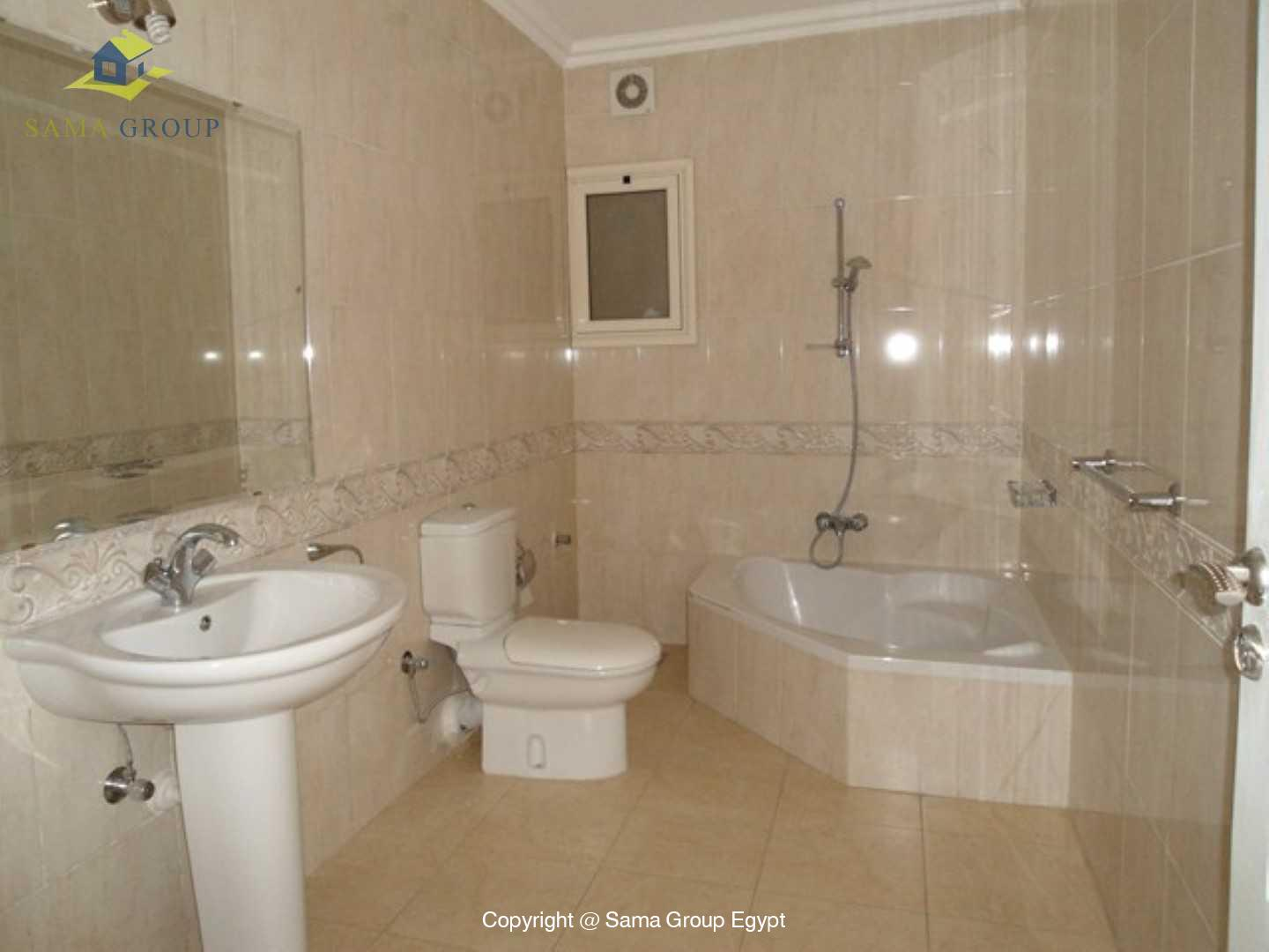 Ground Floor Duplex With Pool For Rent In Maadi Sarayat,Semi furnished,Ground Floor NO #9