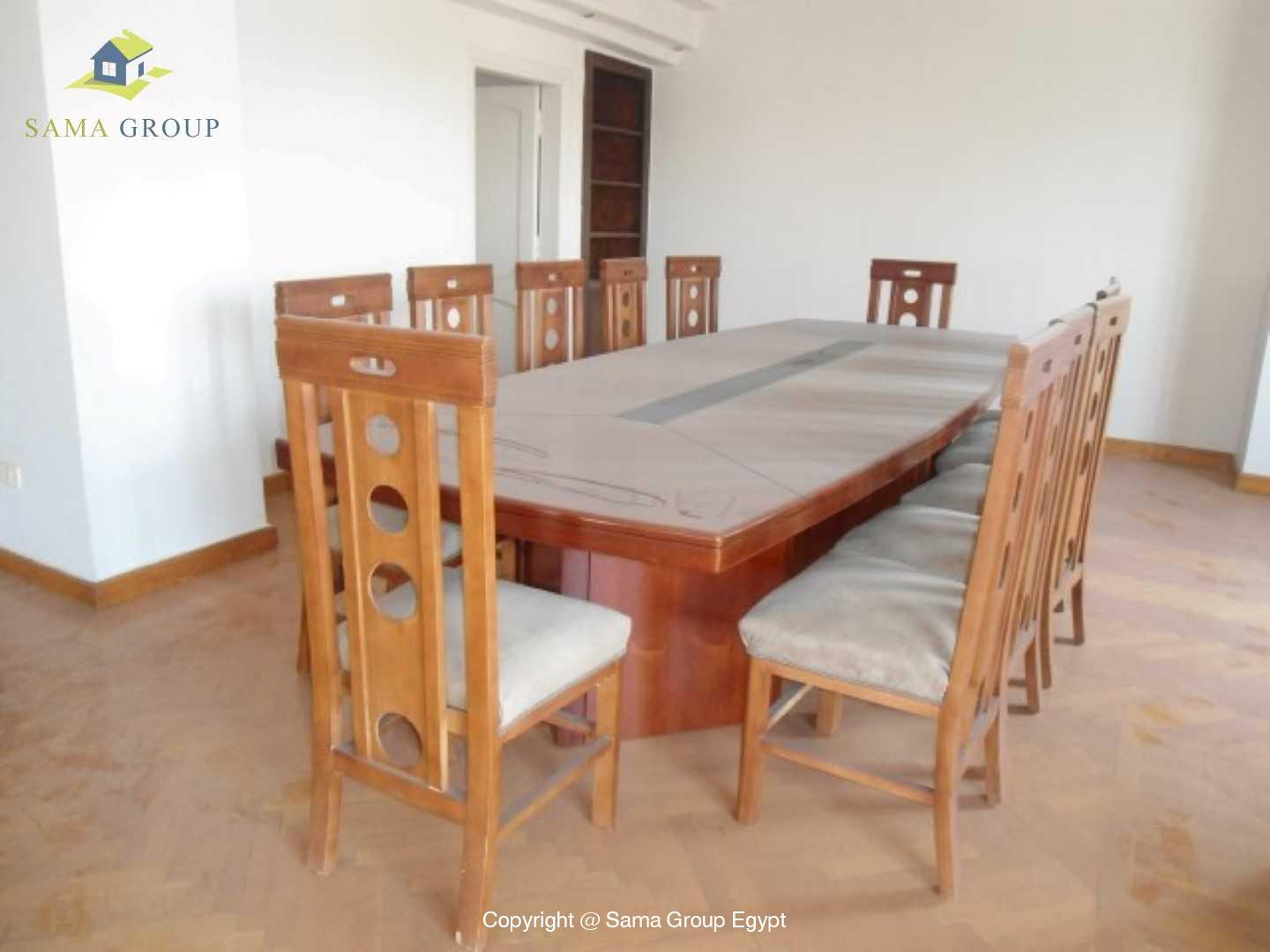 Penthouse Triplex with Swimming Pool For Rent In Maadi,Semi furnished,Penthouse NO #22