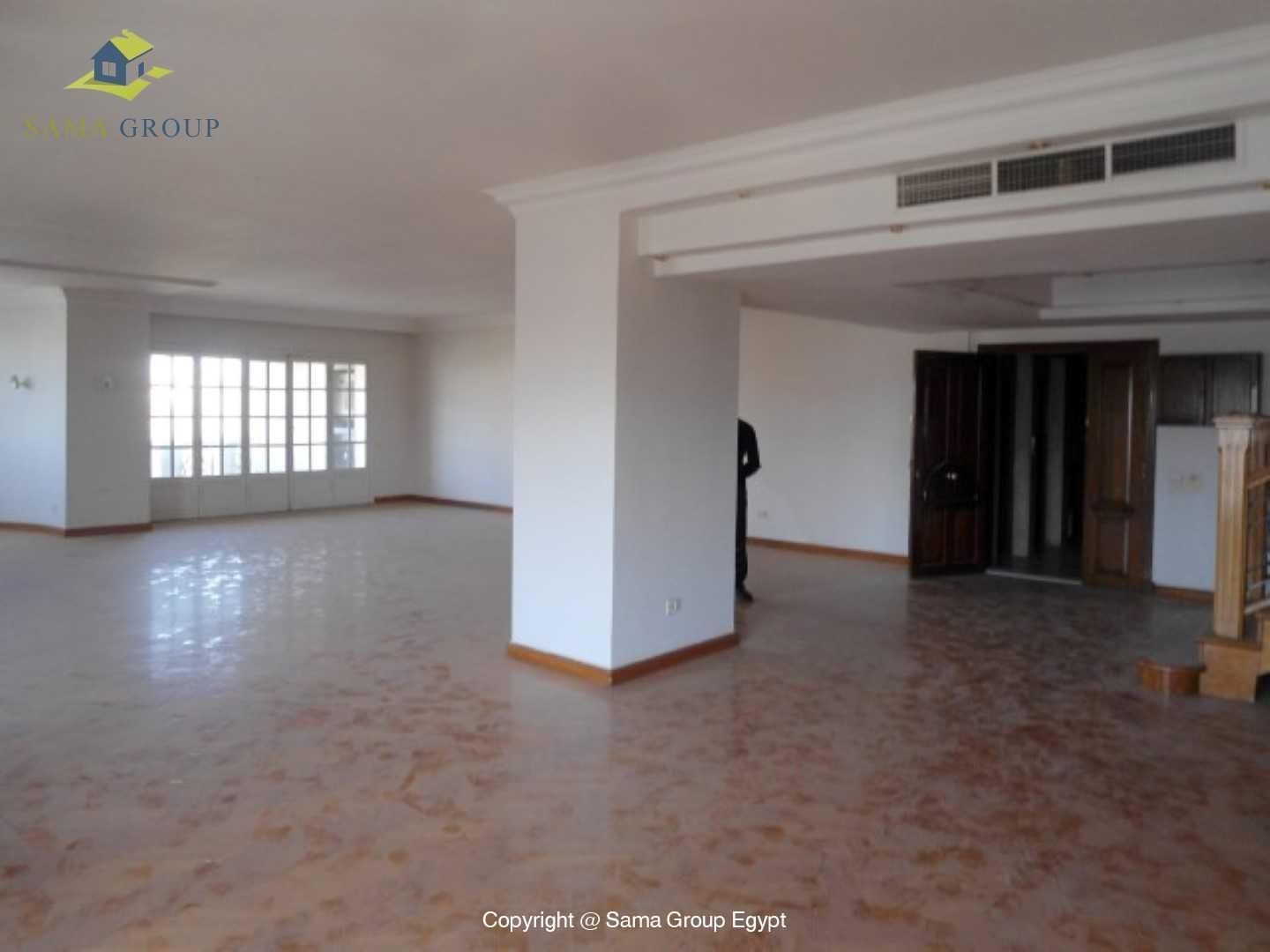 Penthouse Triplex with Swimming Pool For Rent In Maadi,Semi furnished,Penthouse NO #13