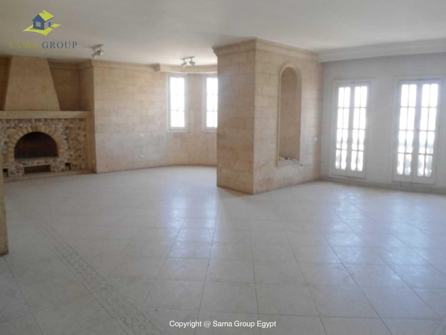 Penthouse Triplex with Swimming Pool For Rent In Maadi,Semi furnished,Penthouse NO #4