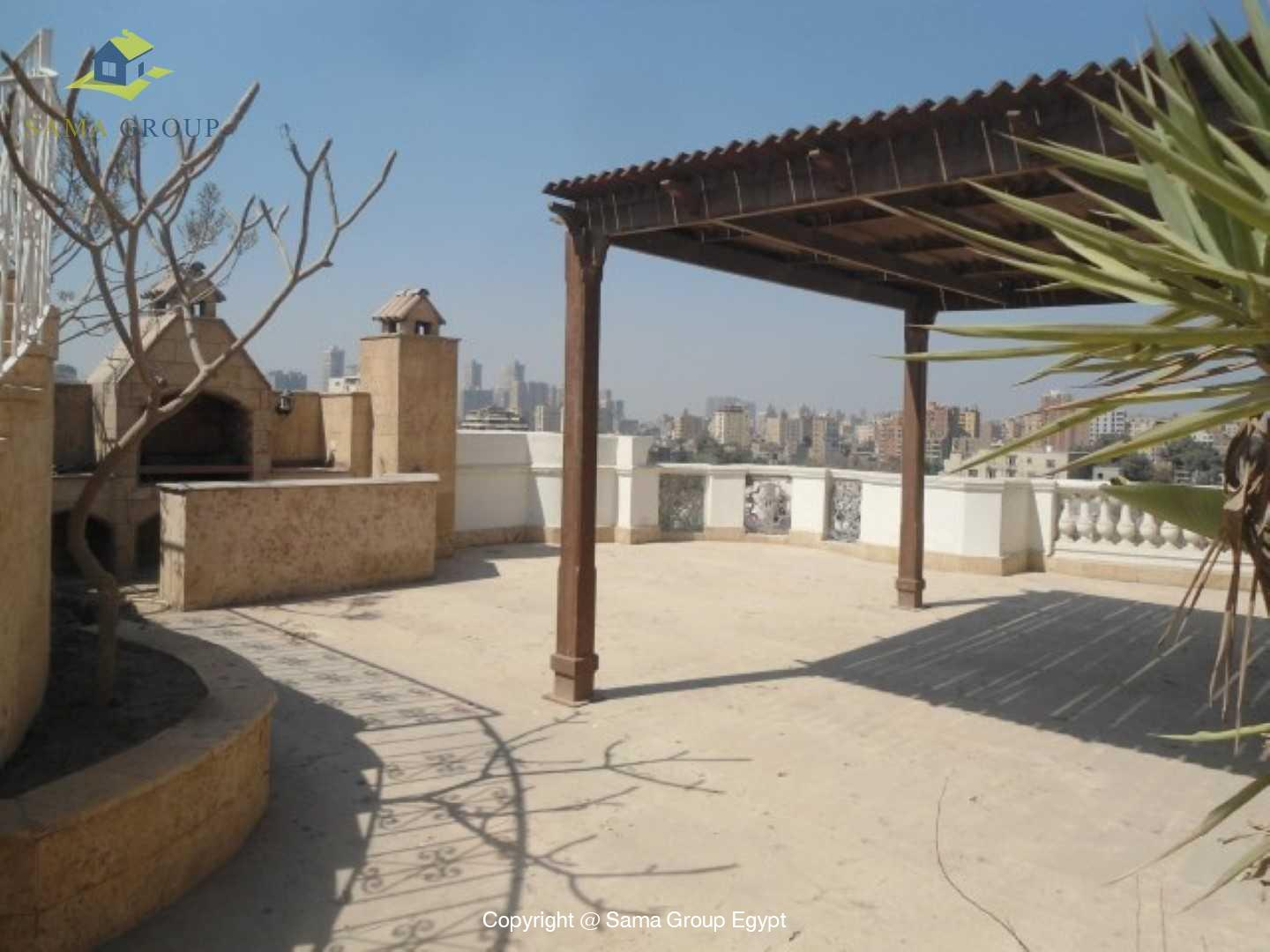 Penthouse Triplex with Swimming Pool For Rent In Maadi,Semi furnished,Penthouse NO #8