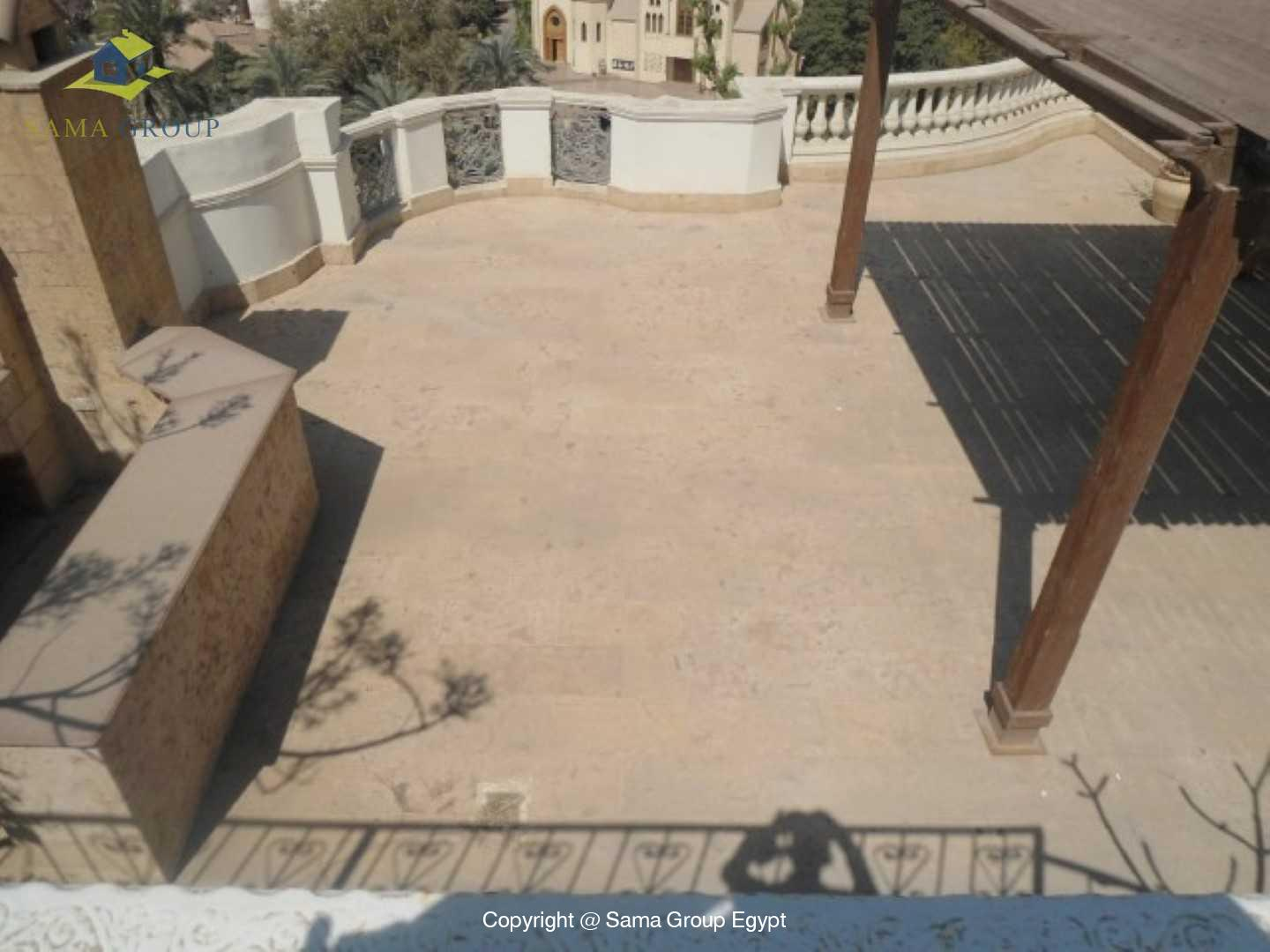Penthouse Triplex with Swimming Pool For Rent In Maadi,Semi furnished,Penthouse NO #23