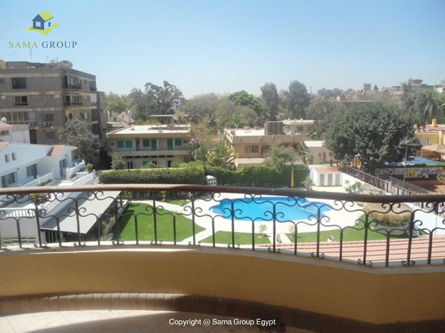 Penthouse with Swimming Pool For Rent In Maadi,Semi furnished,Penthouse NO #14