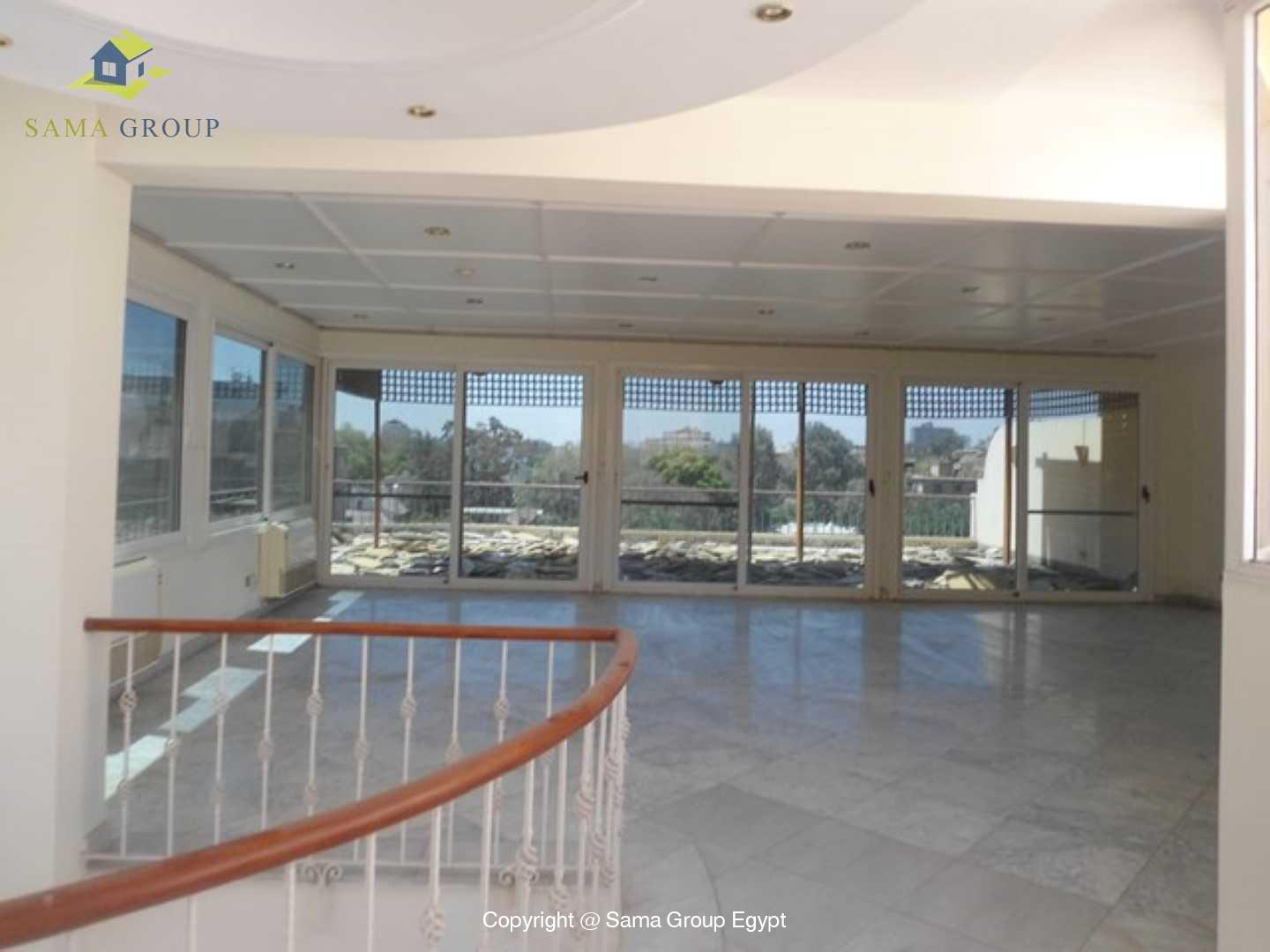 Penthouse with Swimming Pool For Rent In Maadi,Semi furnished,Penthouse NO #12