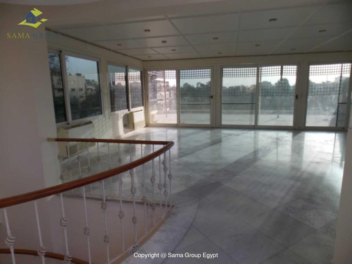 Penthouse with Swimming Pool For Rent In Maadi,Semi furnished,Penthouse NO #4