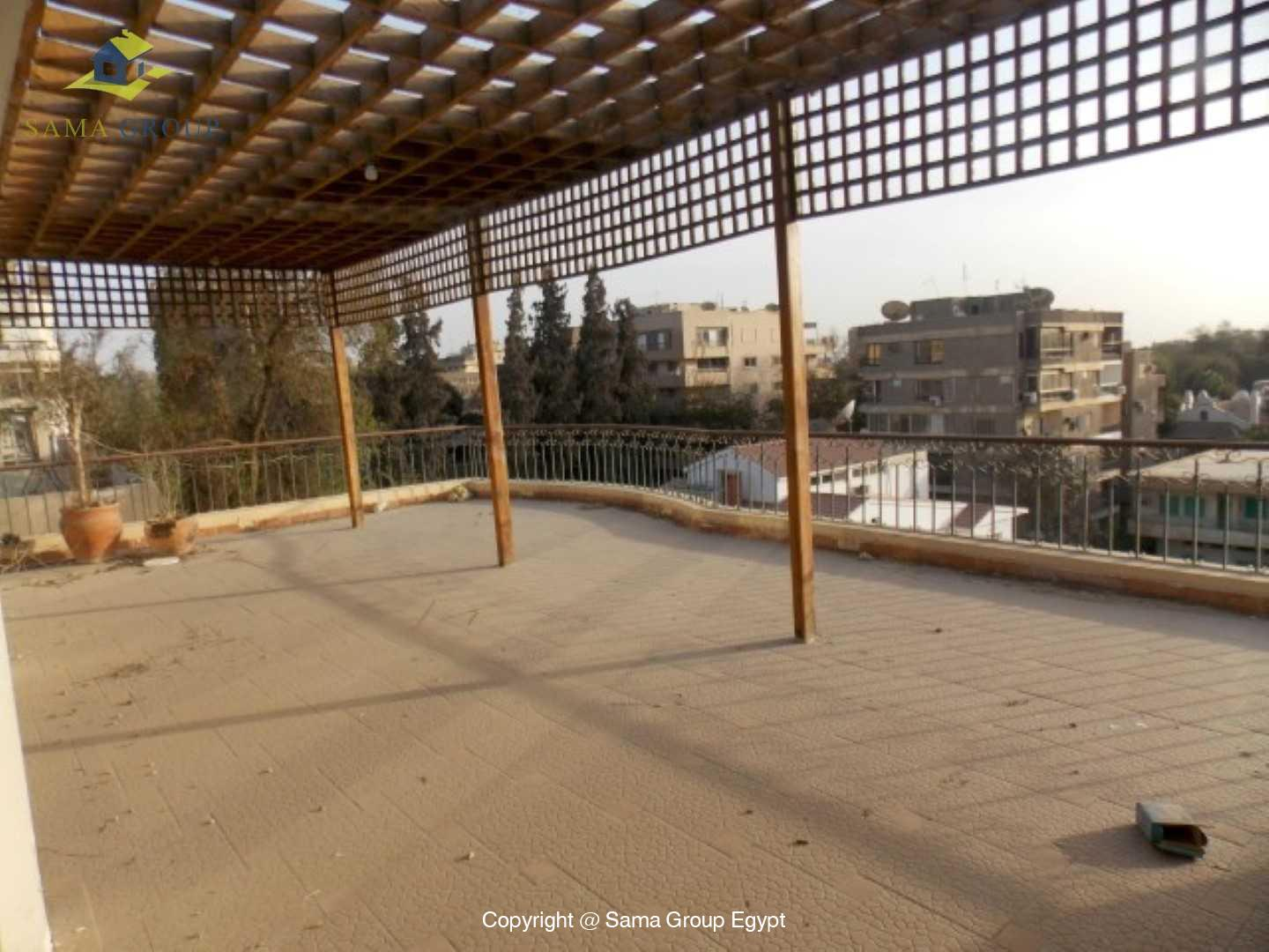 Penthouse with Swimming Pool For Rent In Maadi,Semi furnished,Penthouse NO #3