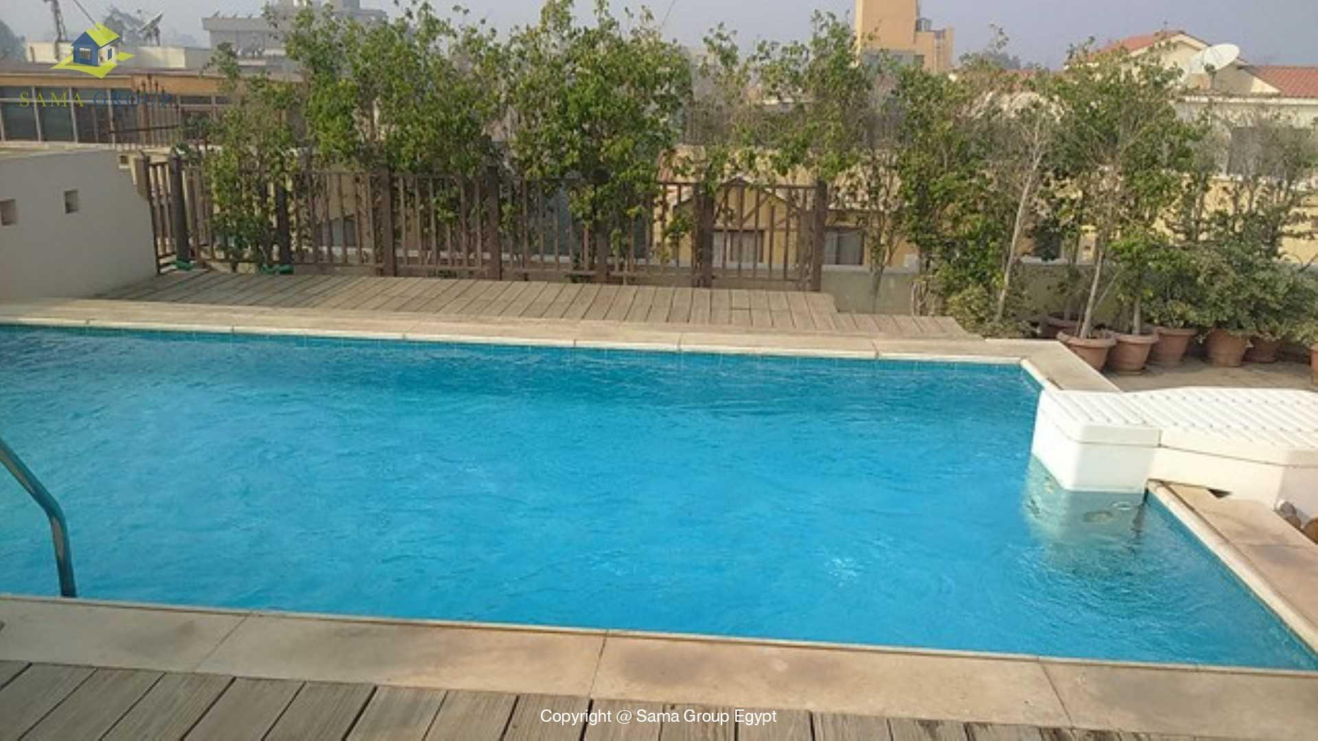 Penthouse with Swimming Pool For Rent In Maadi