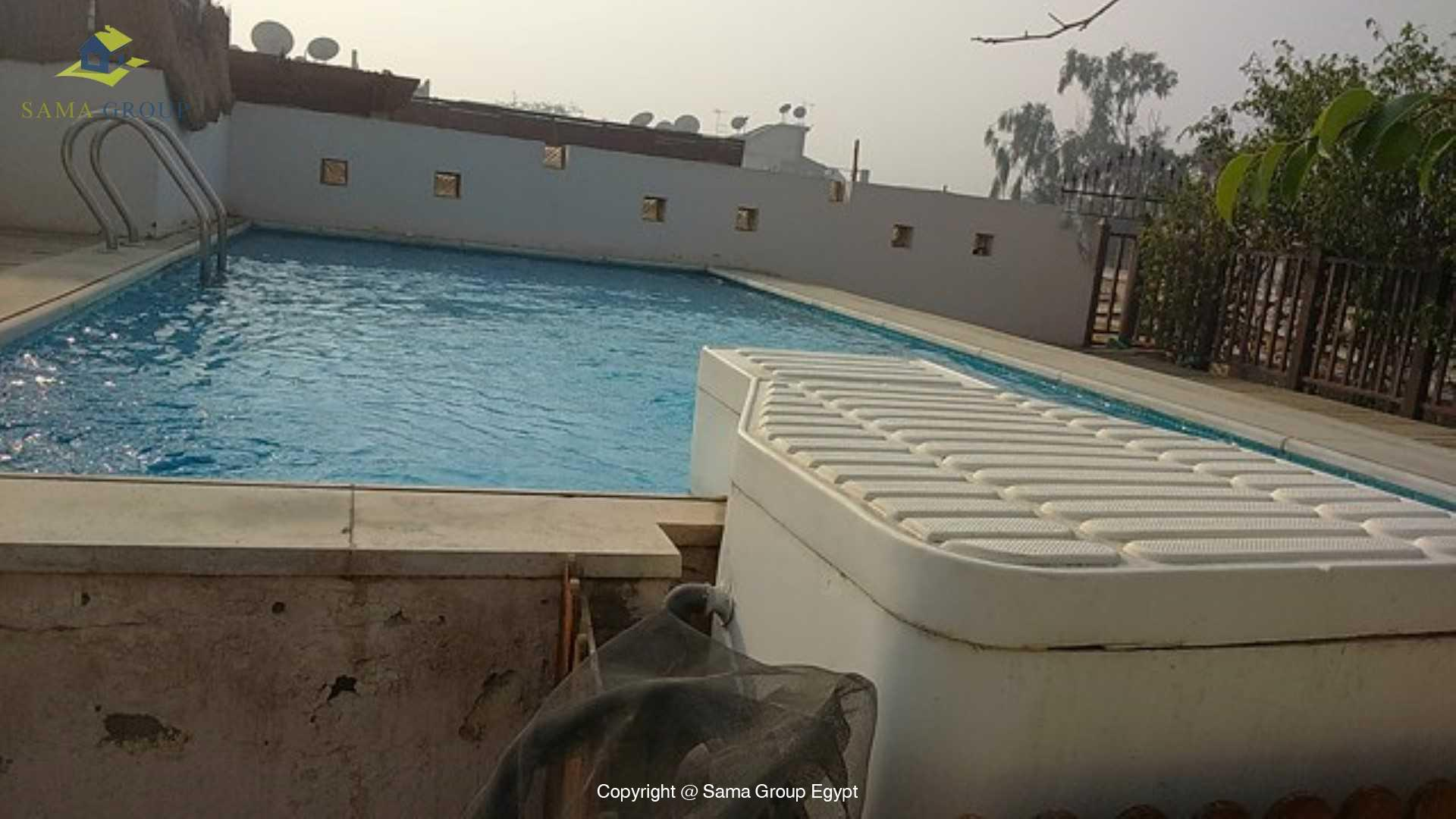 Penthouse with Swimming Pool For Rent In Maadi,Semi furnished,Penthouse NO #16
