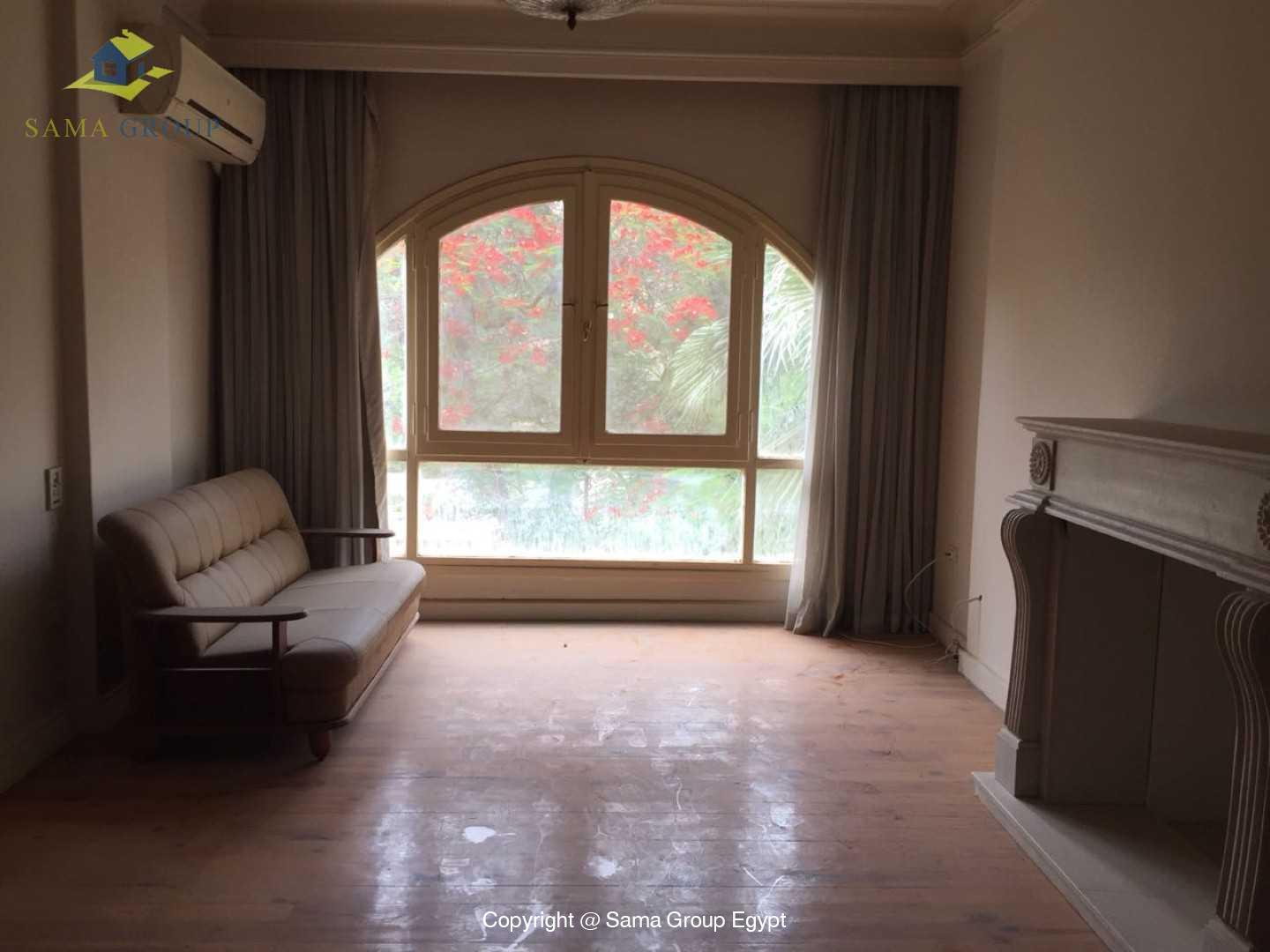 Furnished Ground Floor For Rent In Maadi Degla,Semi furnished,Ground Floor NO #15