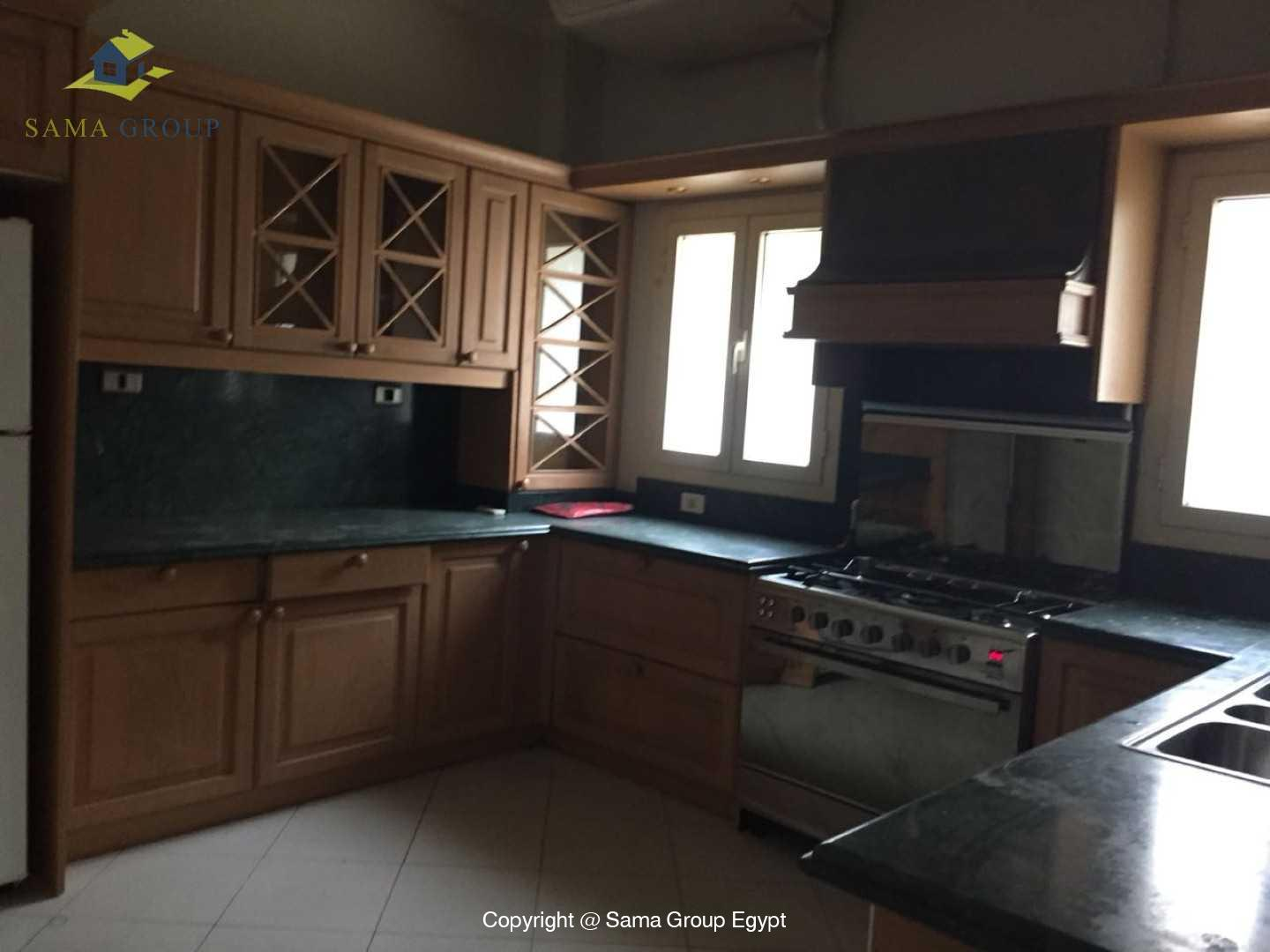 Furnished Ground Floor For Rent In Maadi Degla,Semi furnished,Ground Floor NO #2