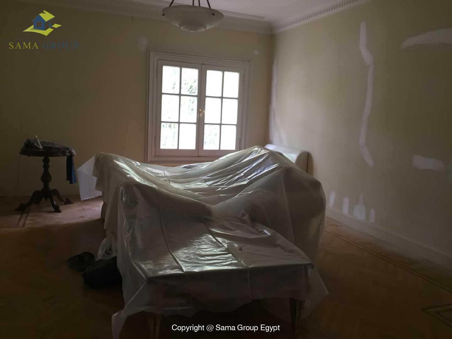 Furnished Ground Floor For Rent In Maadi Degla,Semi furnished,Ground Floor NO #3
