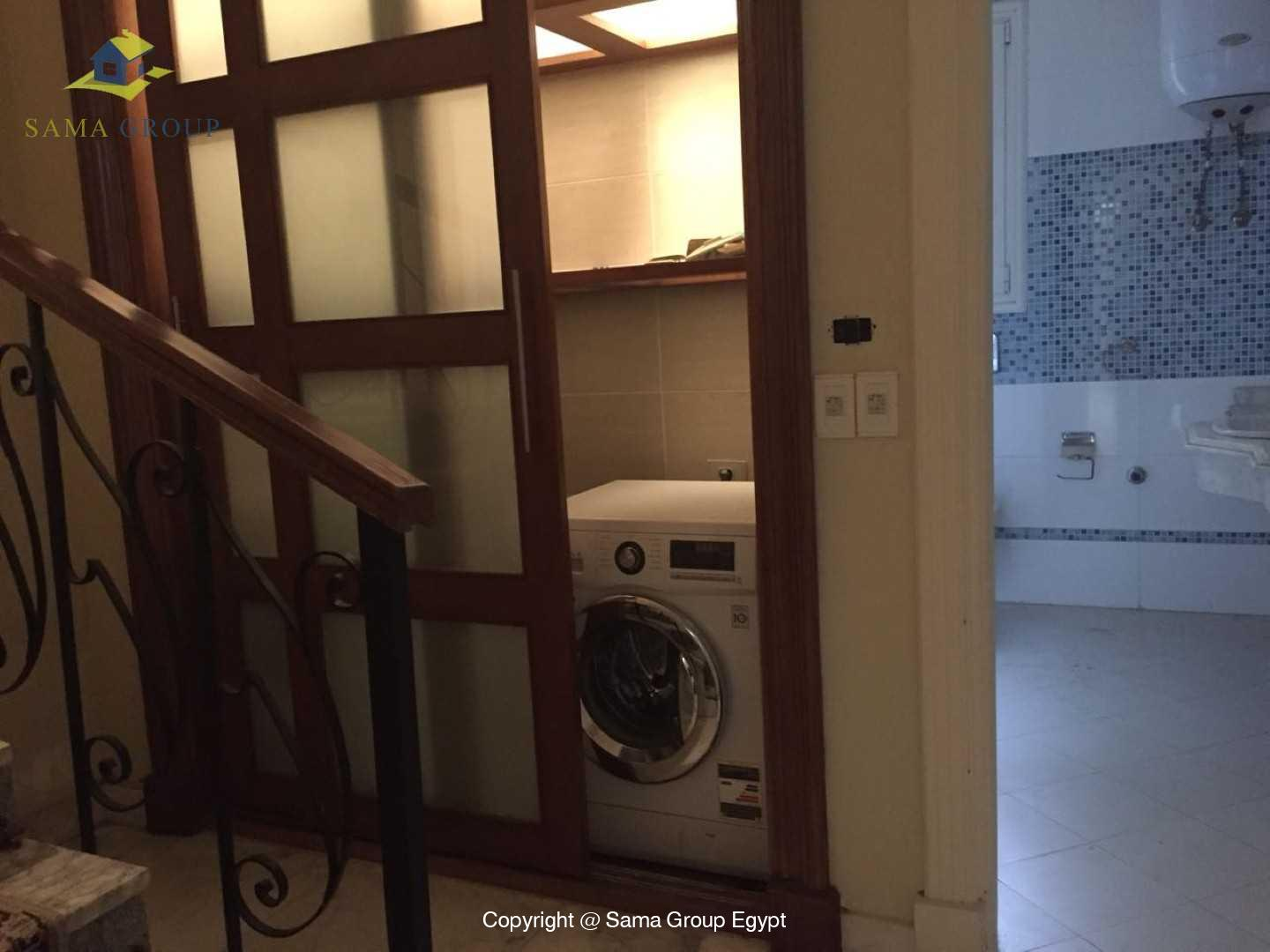 Furnished Ground Floor For Rent In Maadi Degla,Semi furnished,Ground Floor NO #4