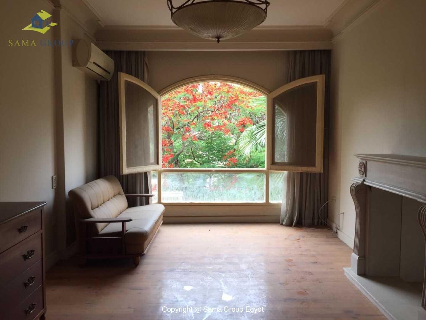 Furnished Ground Floor For Rent In Maadi Degla,Semi furnished,Ground Floor NO #5