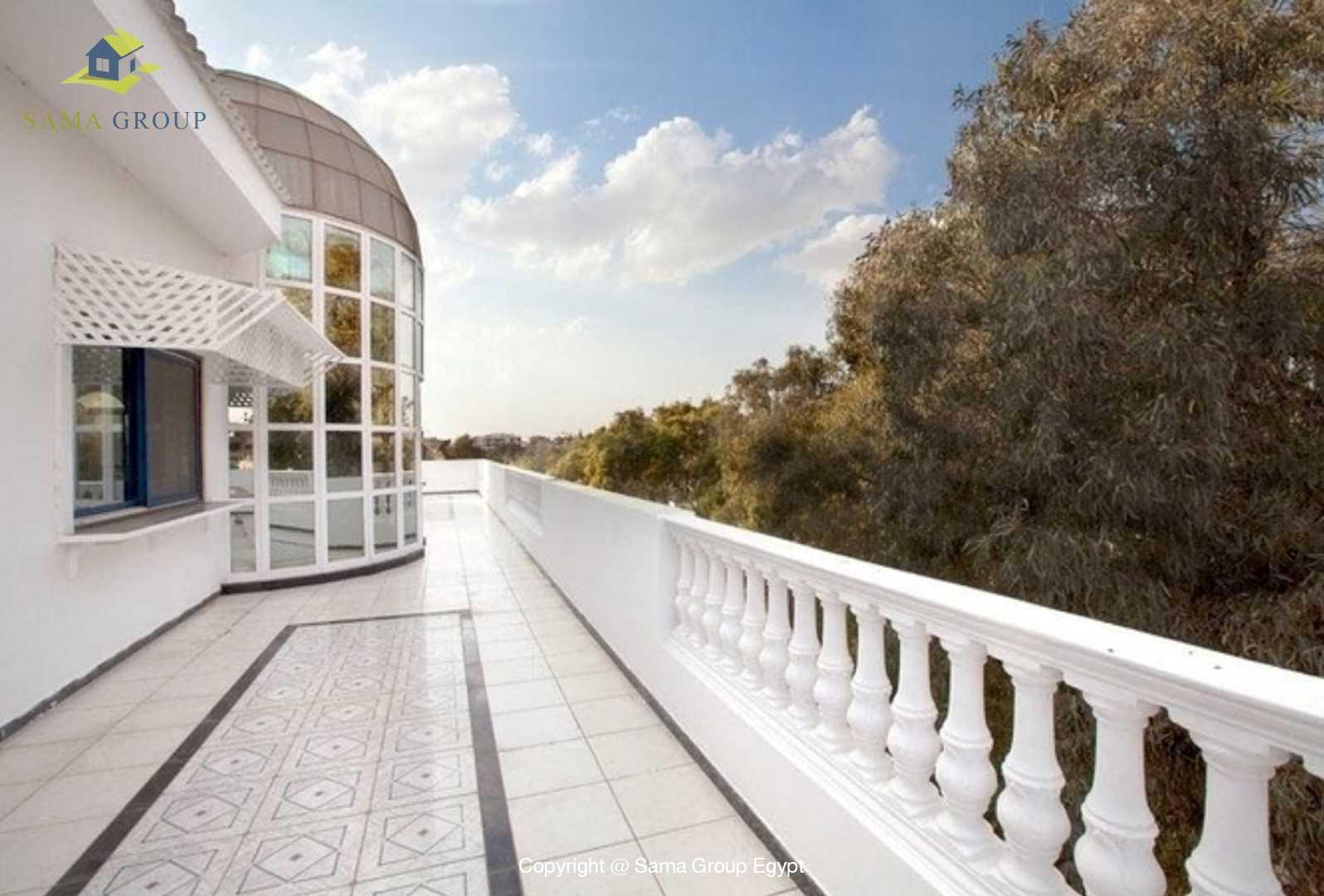 Penthouse With Pool Share For Rent In Maadi
