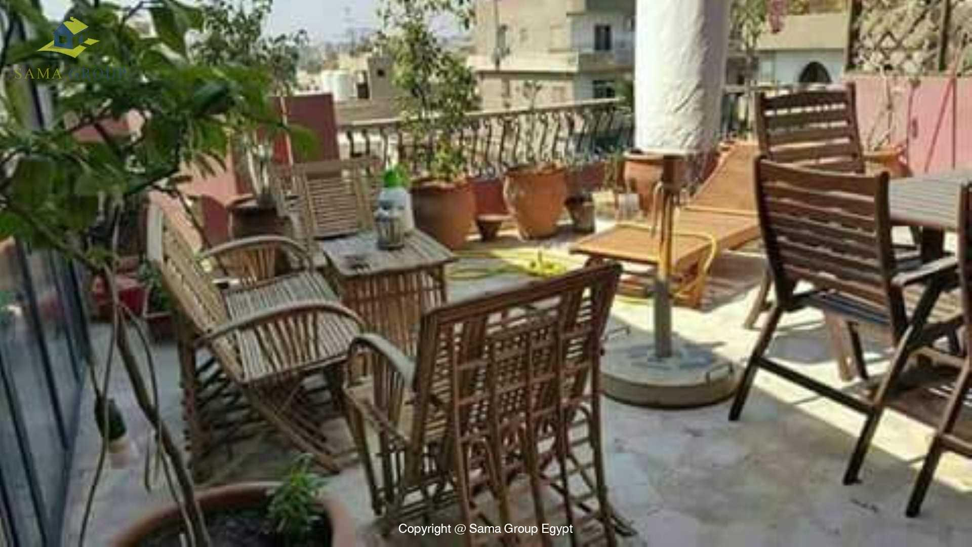 Penthouse With Pool For Rent In Maadi Degla,Modern Furnished,Penthouse NO #6