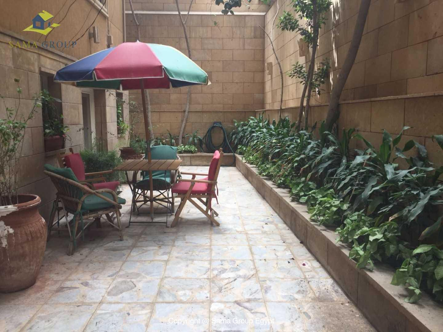 Semi Furnished Ground Floor For Rent In Maadi Degla,Semi furnished,Ground Floor NO #1