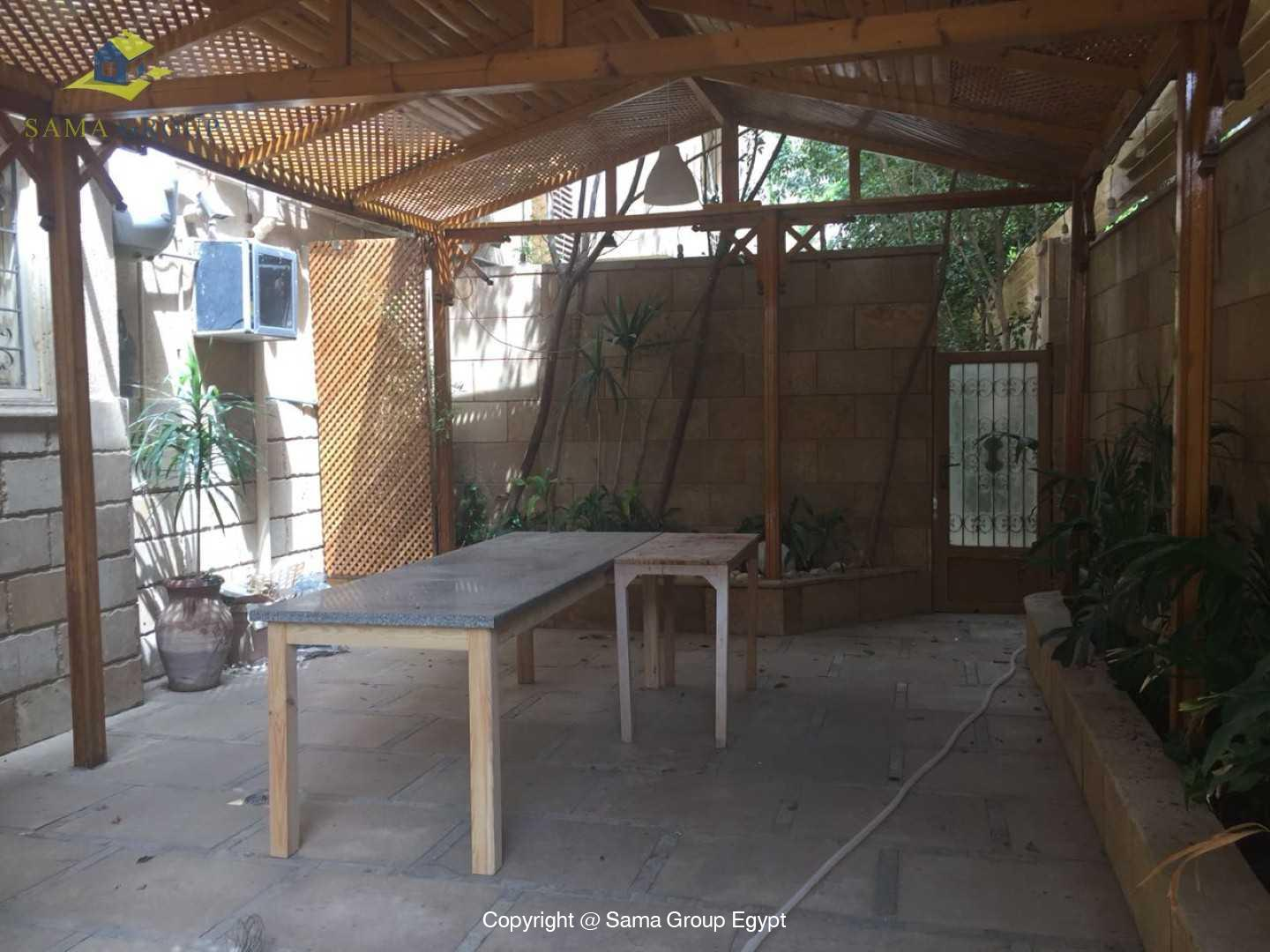 Semi Furnished Ground Floor For Rent In Maadi Degla,Semi furnished,Ground Floor NO #12