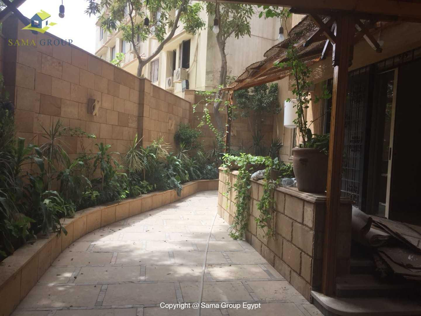 Semi Furnished Ground Floor For Rent In Maadi Degla,Semi furnished,Ground Floor NO #4