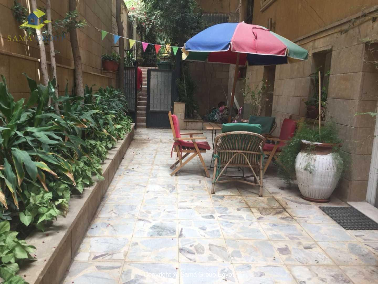 Semi Furnished Ground Floor For Rent In Maadi Degla,Semi furnished,Ground Floor NO #3