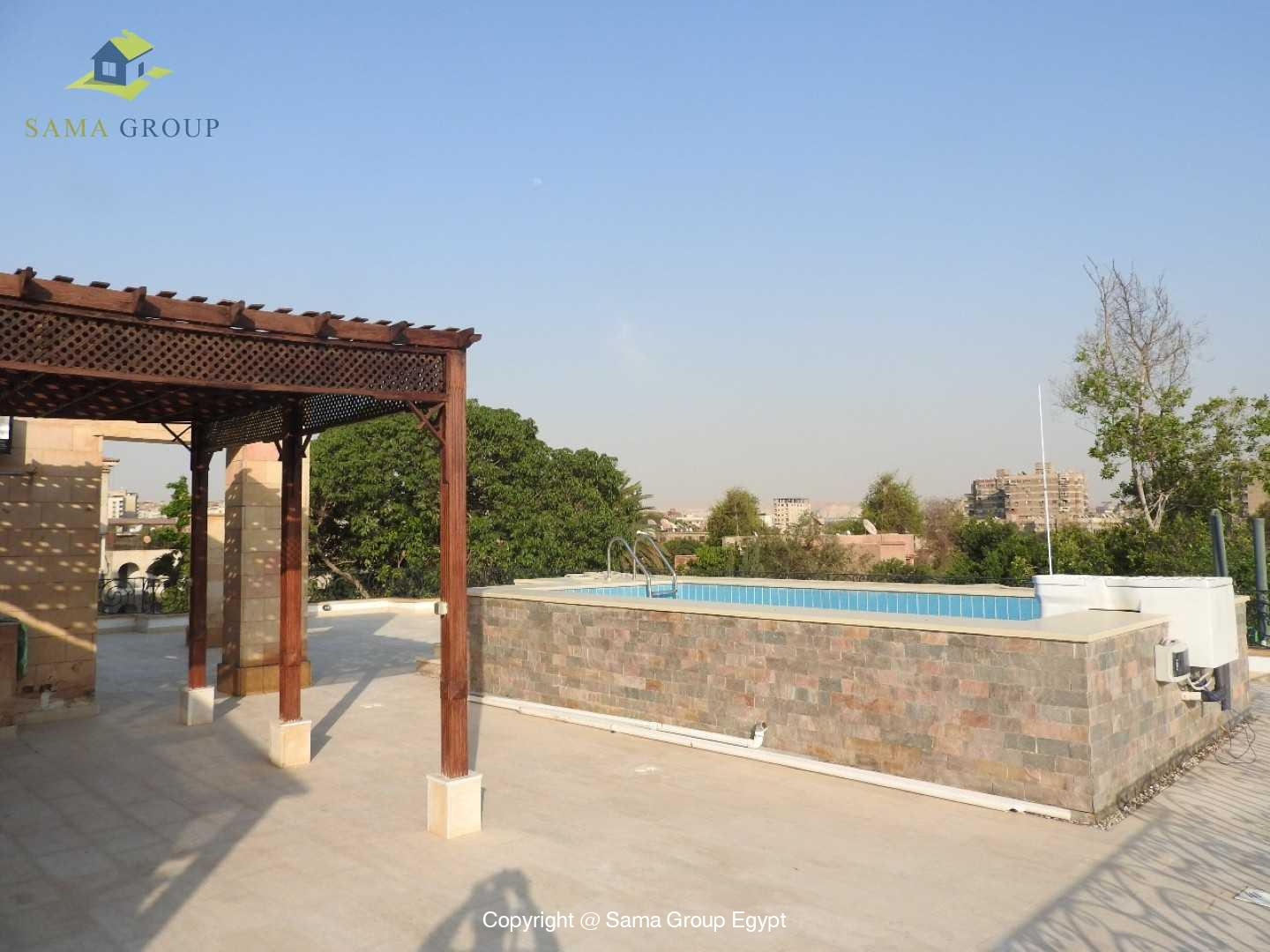 Penthouse With Pool For Rent In Maadi