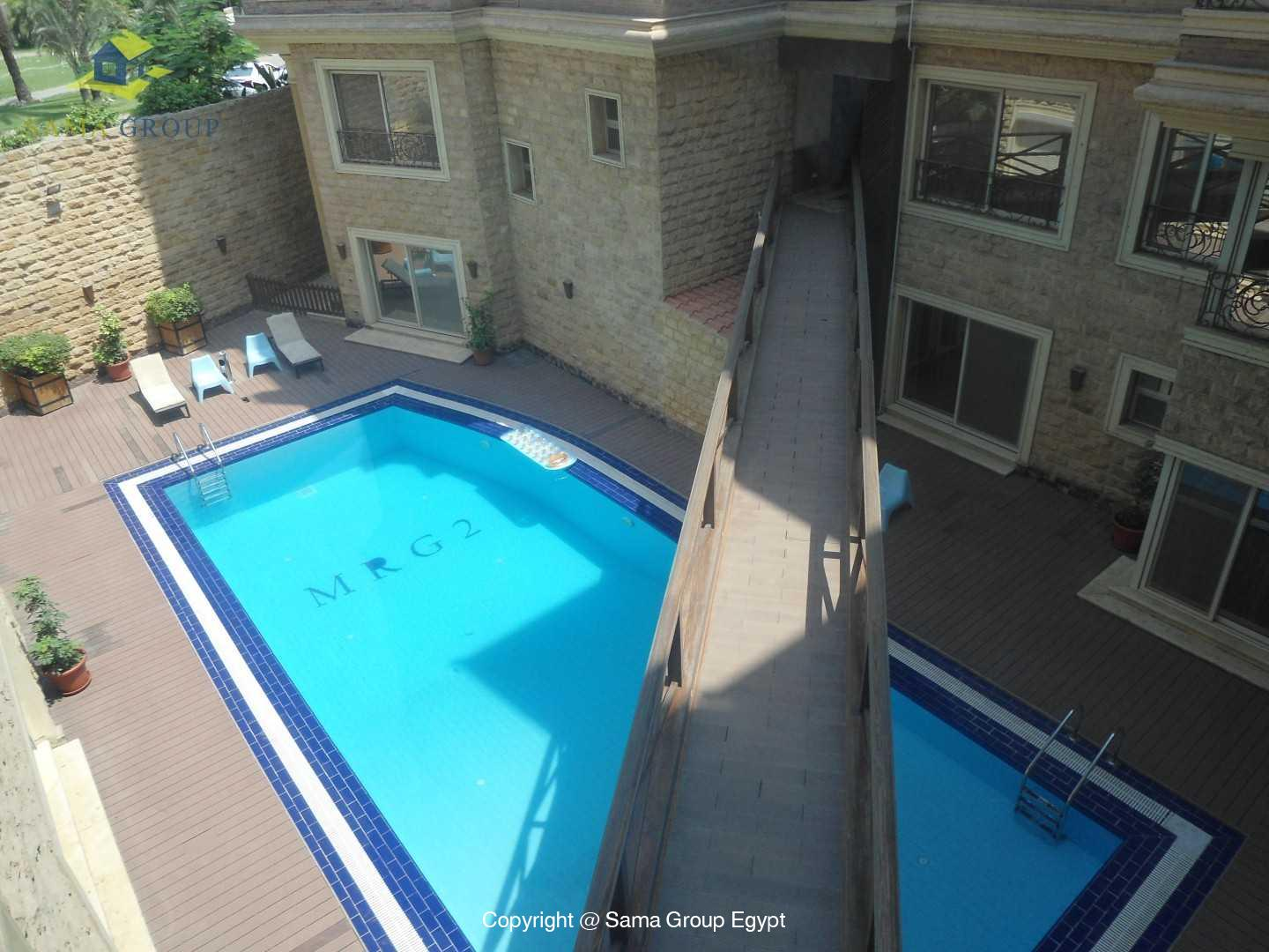 Modern Apartment With Pool Shared For Rent In Maadi,Modern Furnished,Apartment NO #1