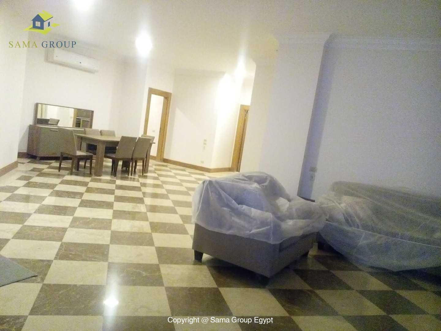 Modern Apartment With Pool Shared For Rent In Maadi,Modern Furnished,Apartment NO #7