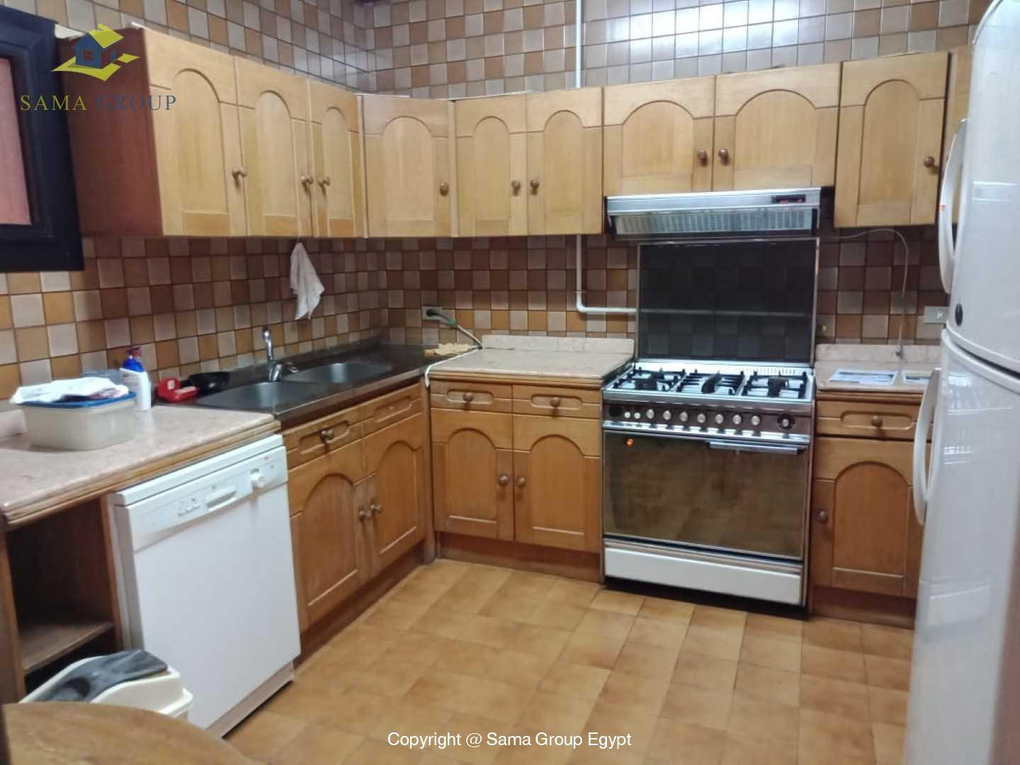 Semi Furnished Apartment For Rent In Maadi Sarayat,Semi furnished,Apartment NO #16