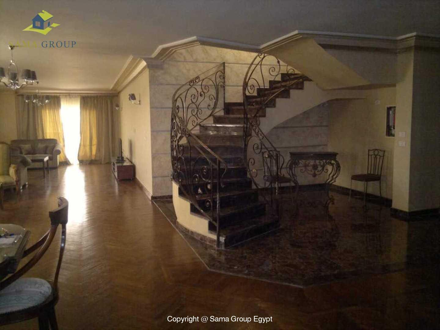 Penthouse Duplex For Rent In Maadi,Furnished,Penthouse NO #1