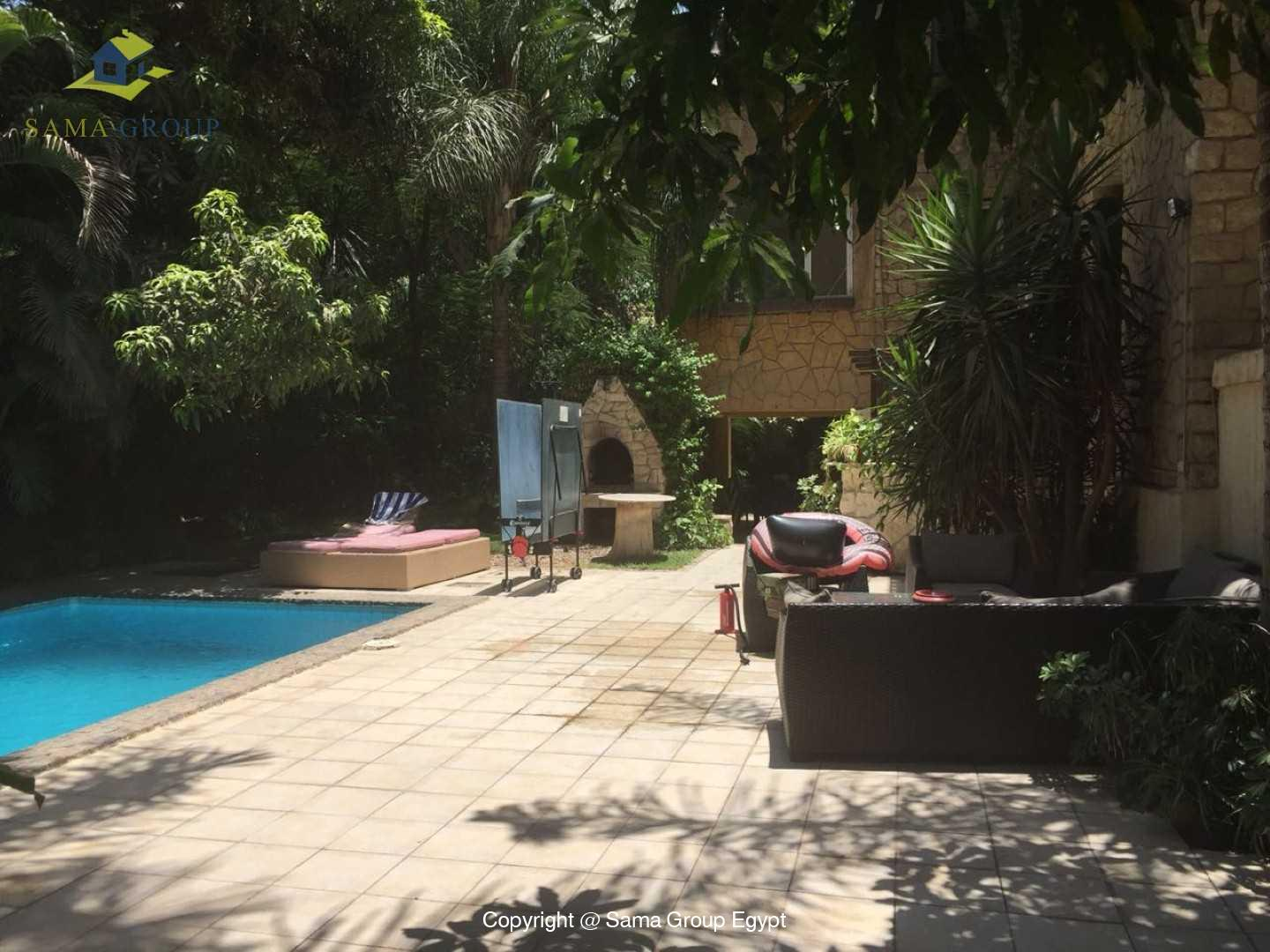 Villa For Rent In Maadi Sarayat,Semi furnished,Villa NO #6