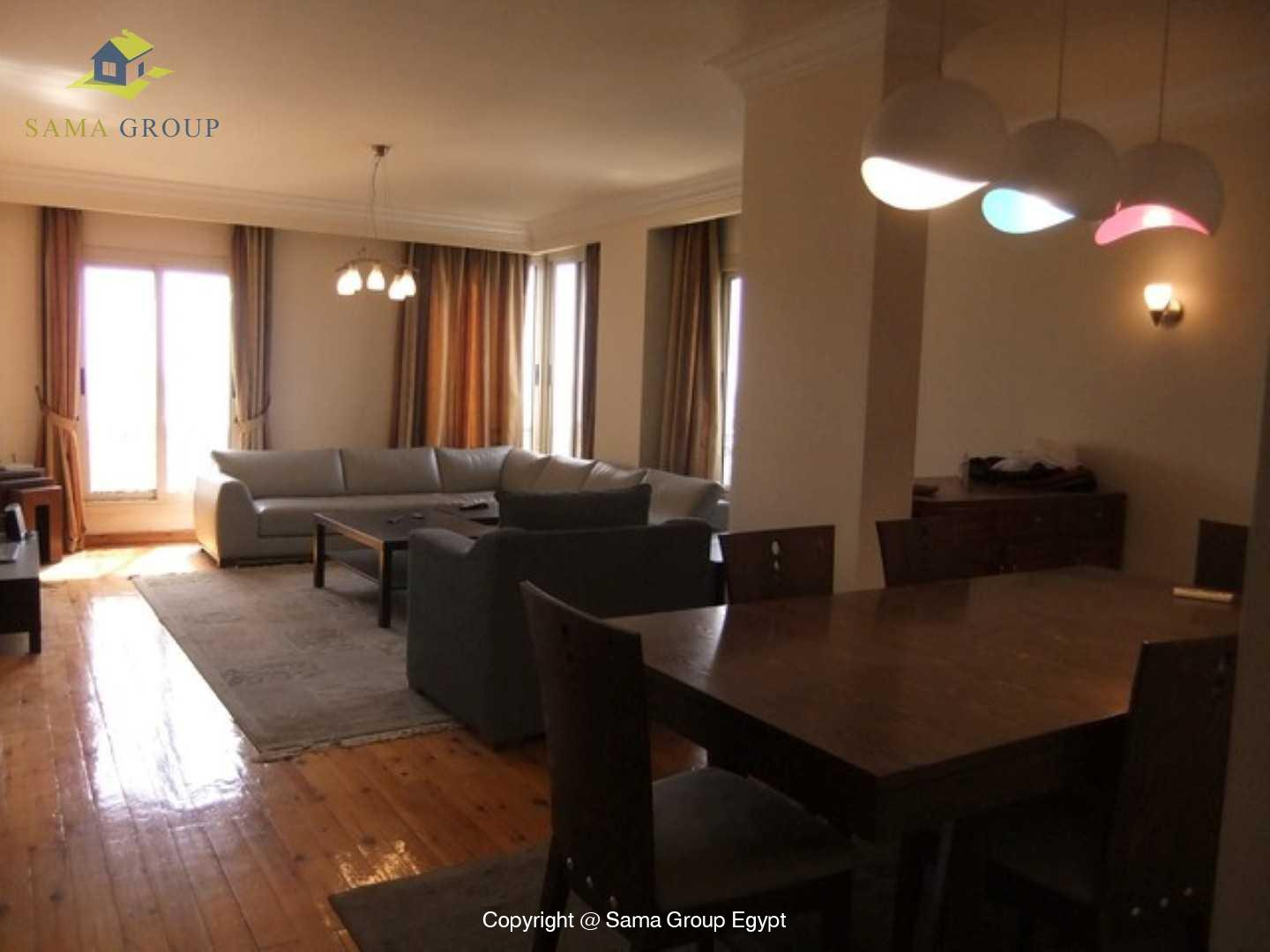 Modern Furnished Penthouse For Rent In Maadi