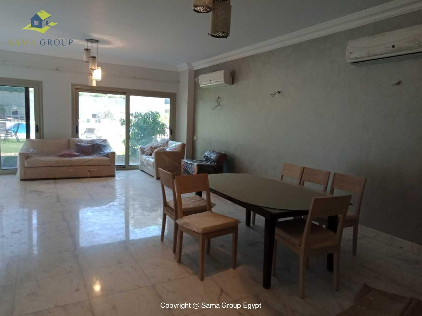 Fully Furnished Ground Floor For Rent In Maadi,Modern Furnished,Ground Floor NO #18