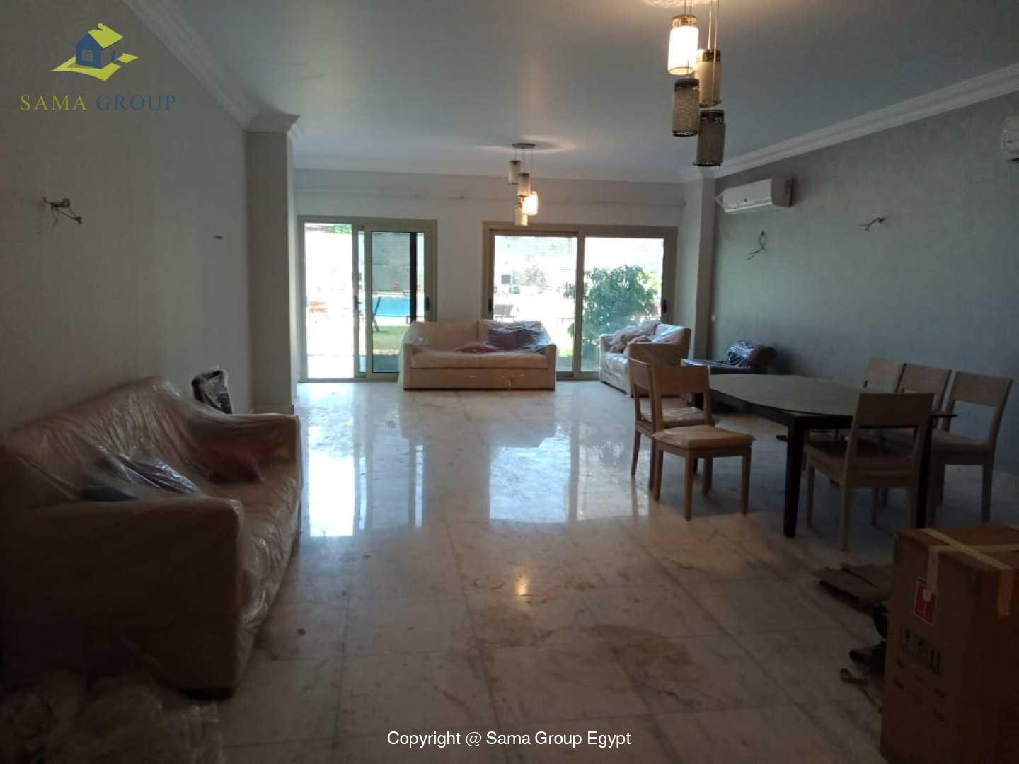 Fully Furnished Ground Floor For Rent In Maadi,Modern Furnished,Ground Floor NO #16