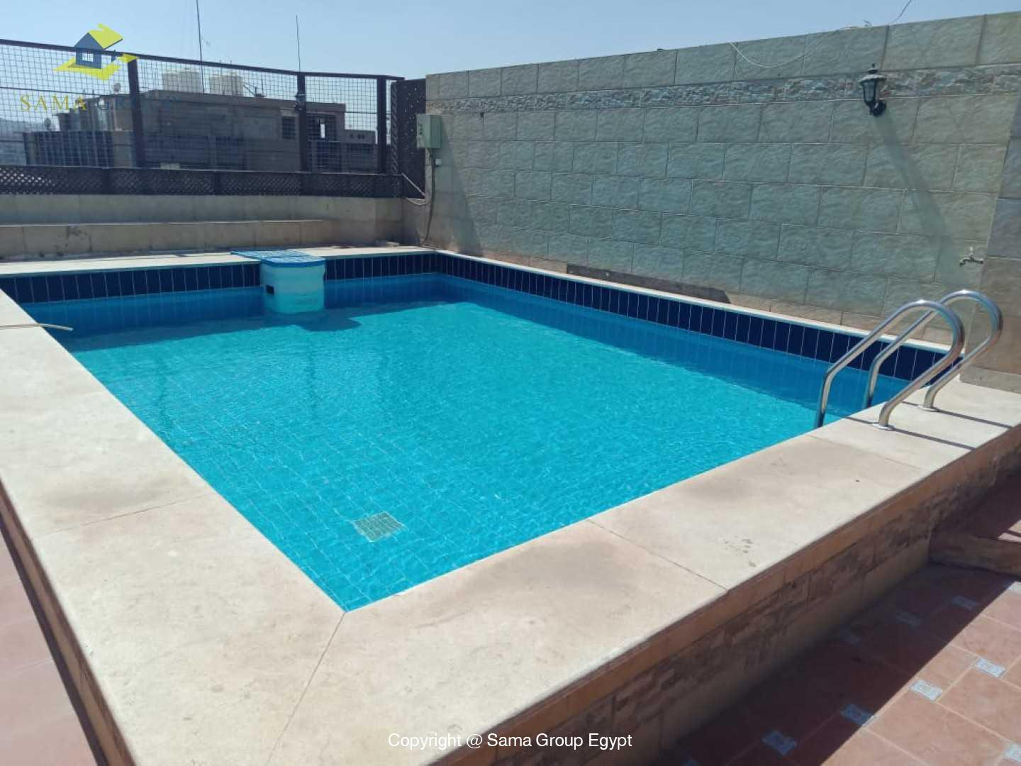 Penthouse With Pool For Rent In Maadi Degla,Modern Furnished,Penthouse NO #1