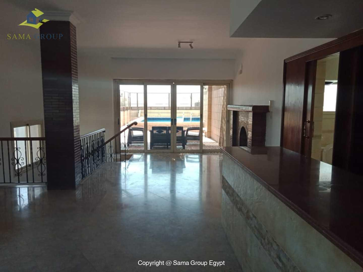 Penthouse With Pool For Rent In Maadi Degla,Modern Furnished,Penthouse NO #19