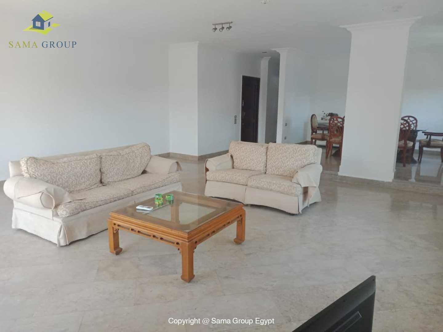 Penthouse With Pool For Rent In Maadi Degla,Modern Furnished,Penthouse NO #21