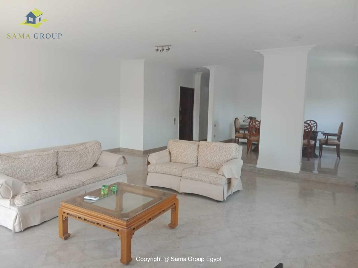 Penthouse With Pool For Rent In Maadi Degla,Modern Furnished,Penthouse NO #4