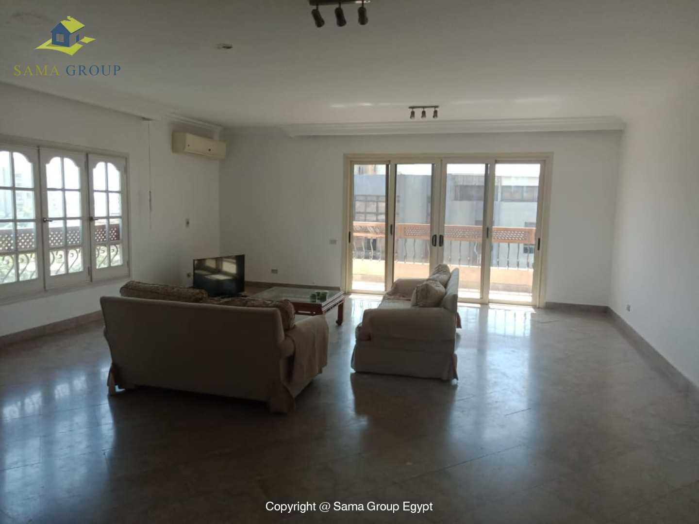Penthouse With Pool For Rent In Maadi Degla,Modern Furnished,Penthouse NO #22