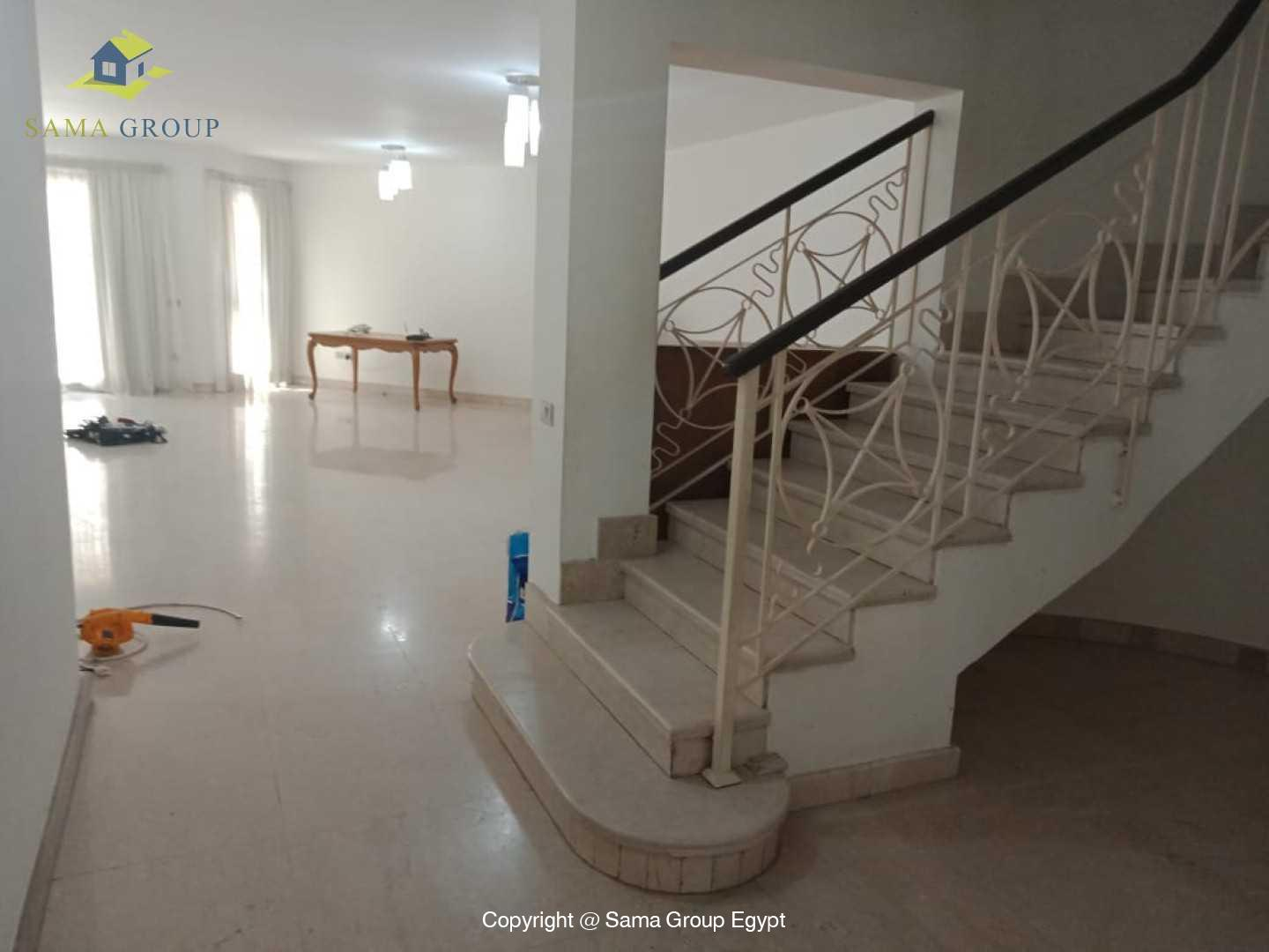 Ground Floor Duplex For Rent In Maadi Sarayat,Semi furnished,Ground Floor NO #8