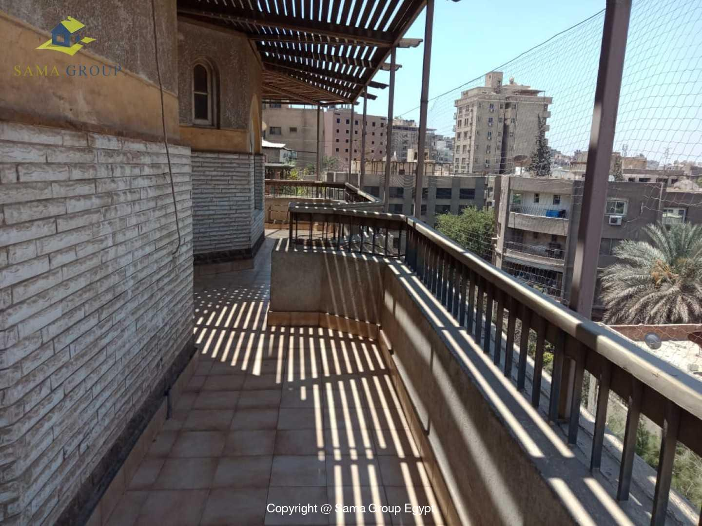 Penthouse For Rent In Maadi Degla Close to CAC,Furnished,Penthouse NO #1