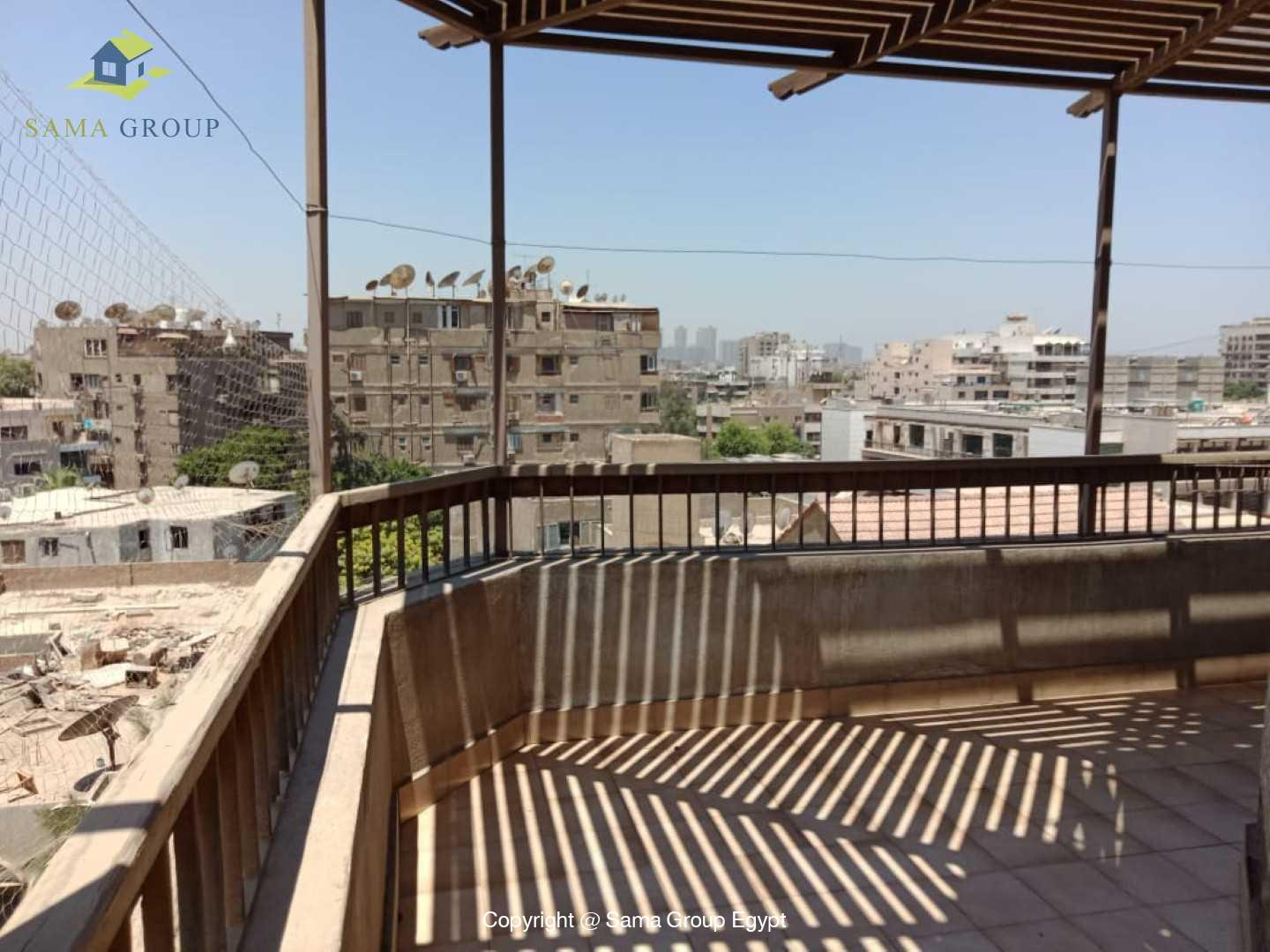 Penthouse For Rent In Maadi Degla Close to CAC,Furnished,Penthouse NO #14