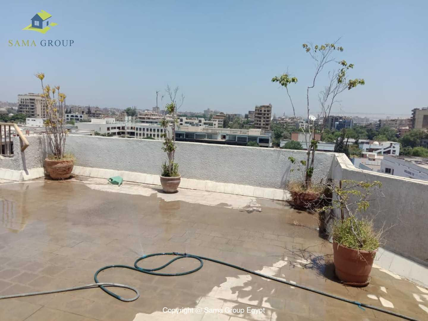 Penthouse For Rent In Maadi Degla Close to CAC,Furnished,Penthouse NO #15